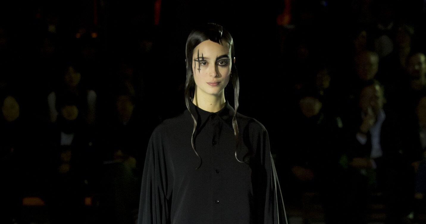Winter 2015 Fashion Show Yohji Yamamoto Collection 2015