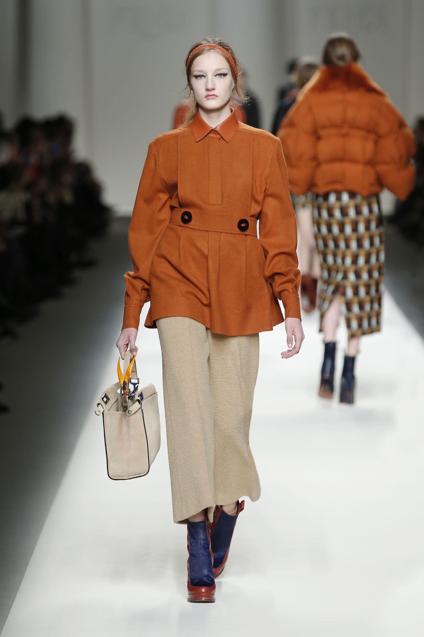 Winter 2015 Fashion Trends Fendi Collection