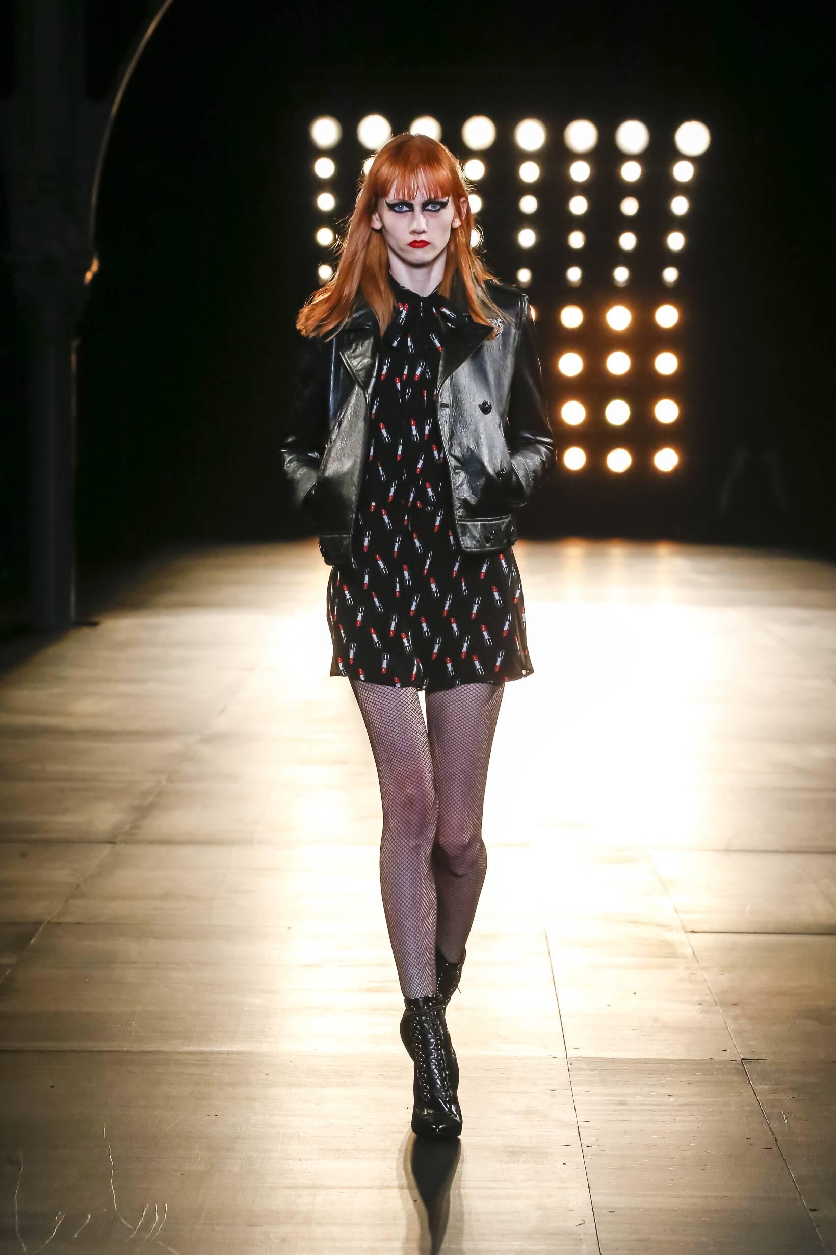 Winter 2015 Fashion Trends Saint Laurent Collection