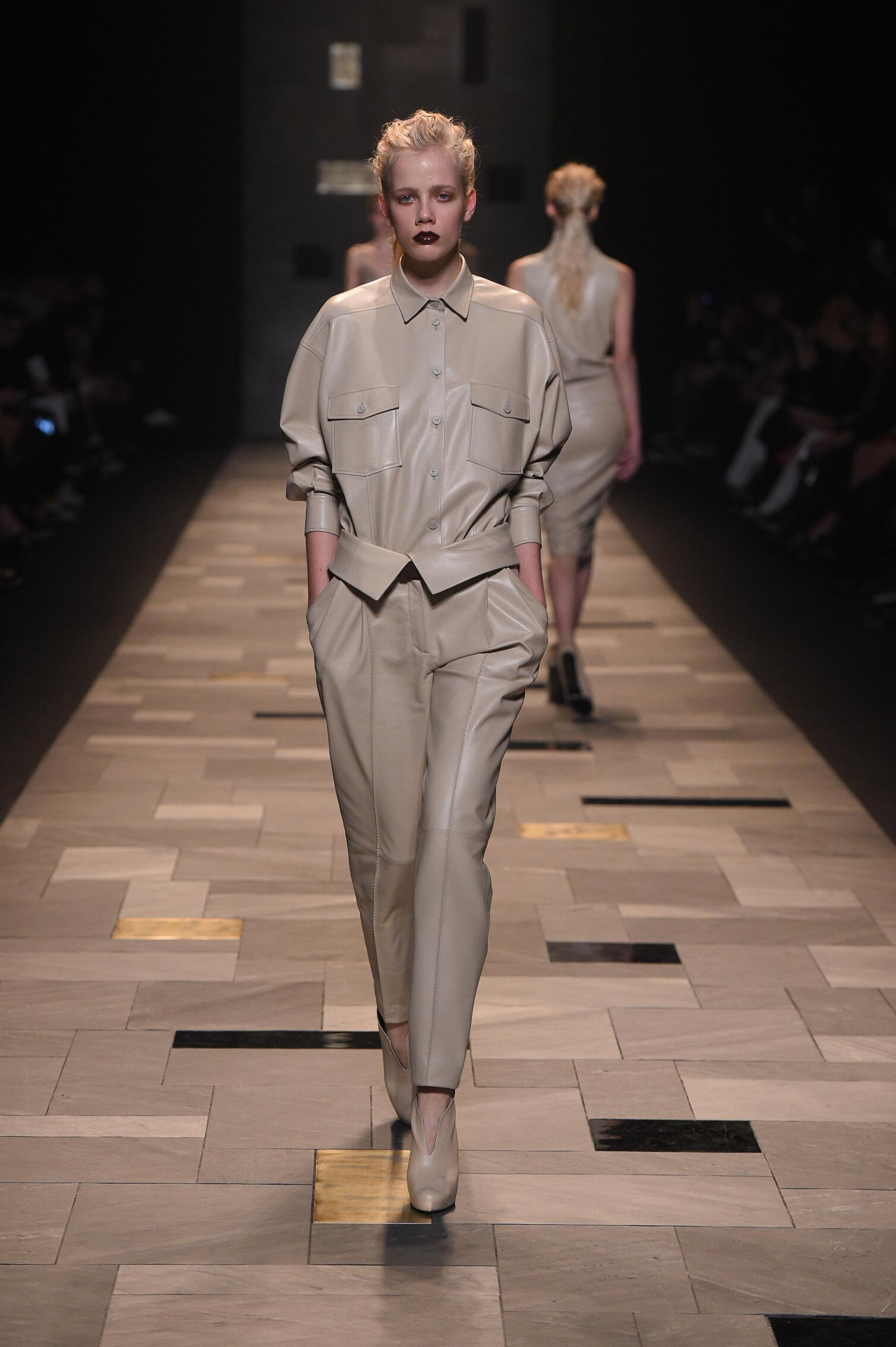 Winter 2015 Fashion Trends Trussardi Collection