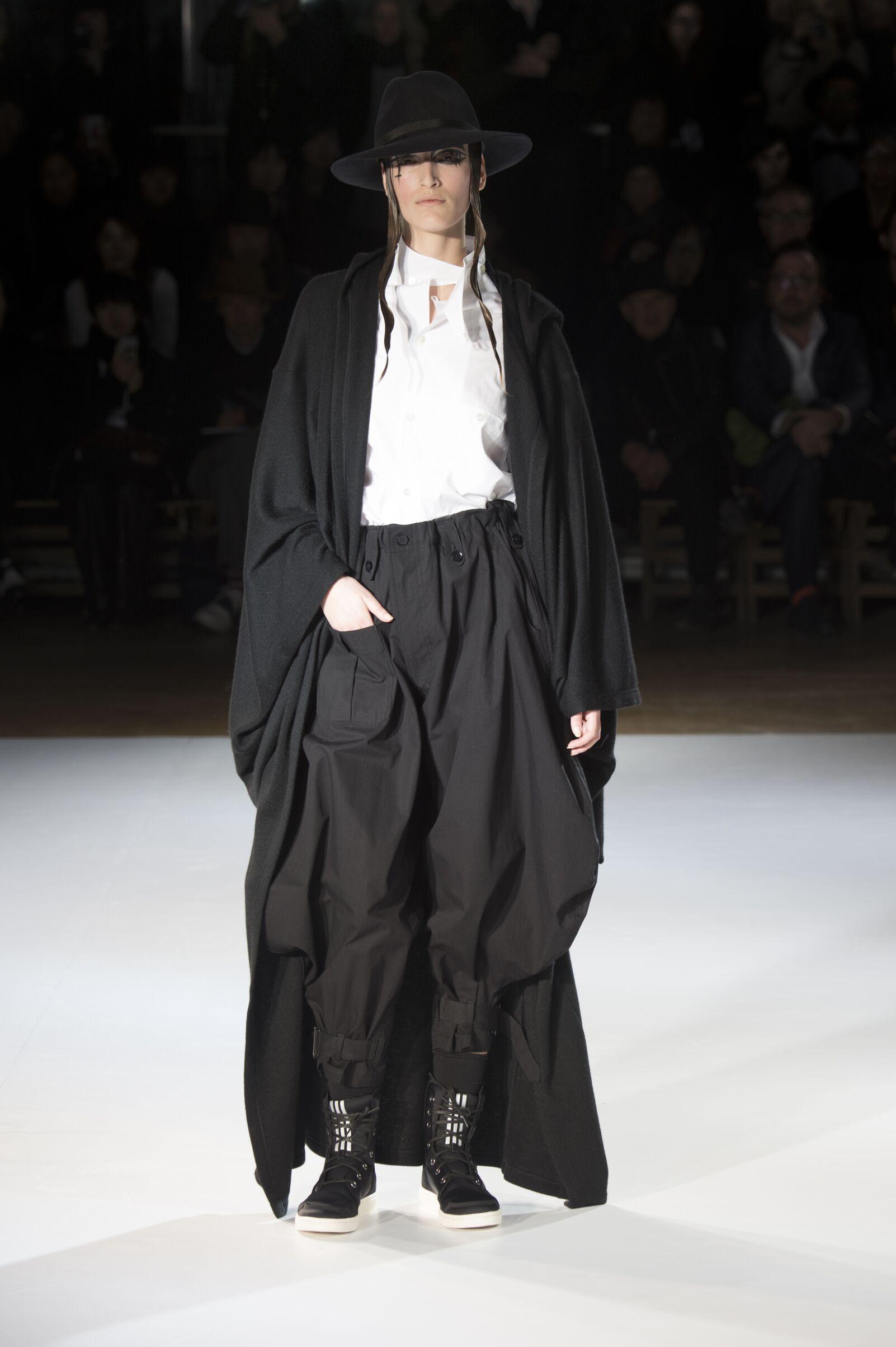 Winter 2015 Fashion Trends Yohji Yamamoto Collection