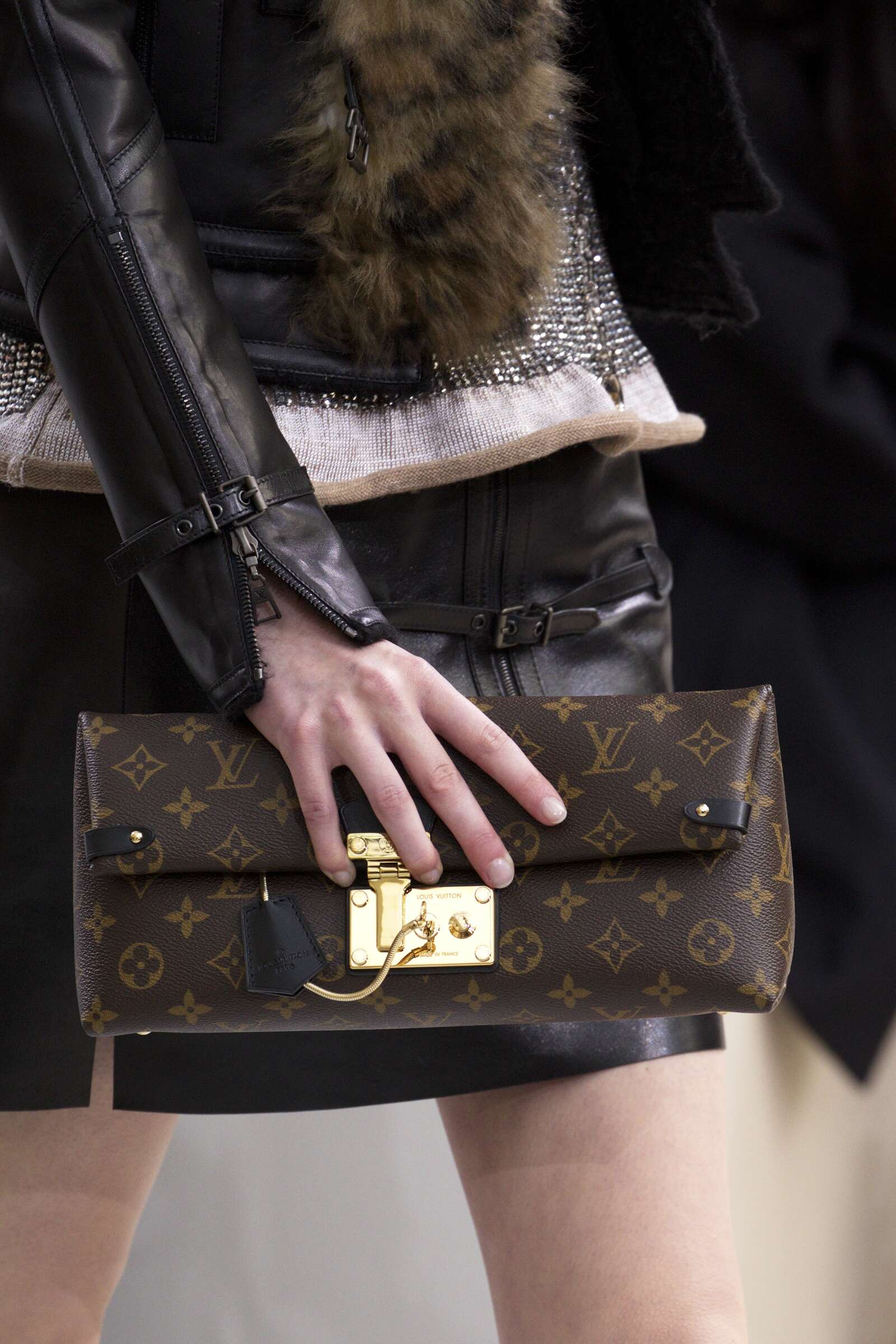 Winter 2015 Runway Louis Vuitton Bag Details