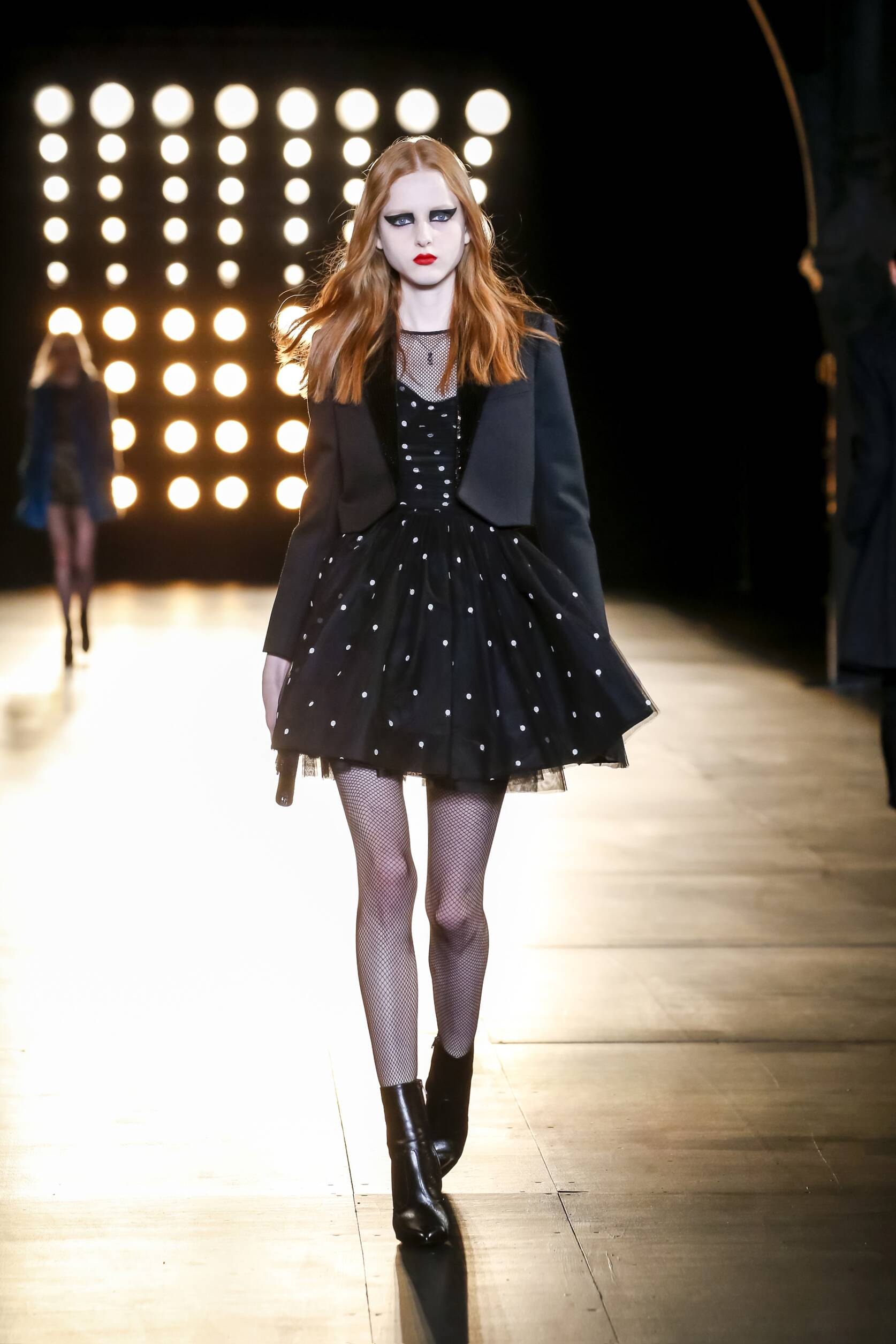 Winter 2015 Runway Saint Laurent