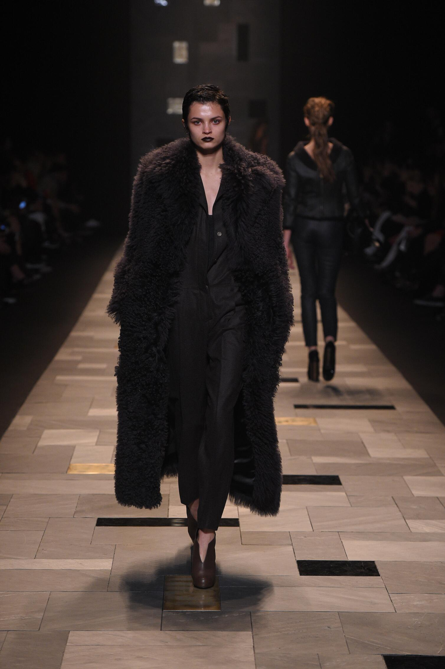 Winter 2015 Woman Trends Trussardi Collection