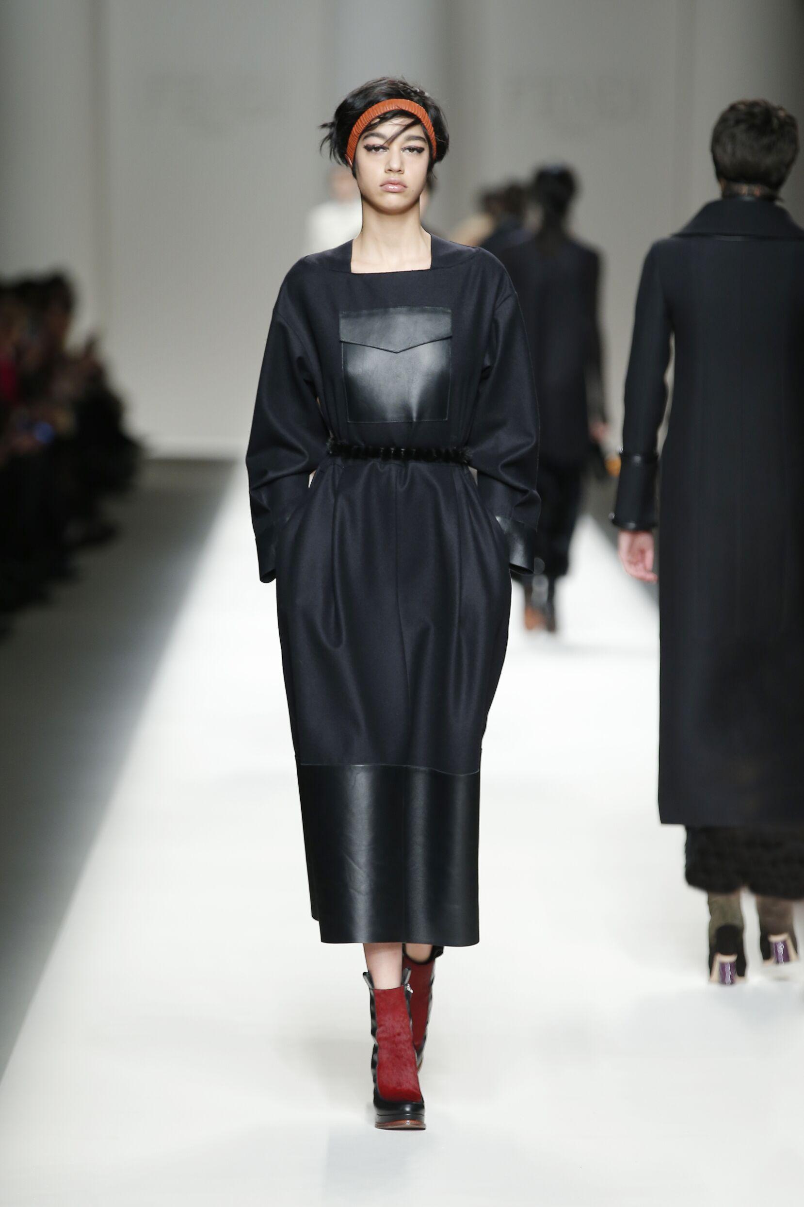 Winter Fashion Trends 2015 2016 Fendi Collection