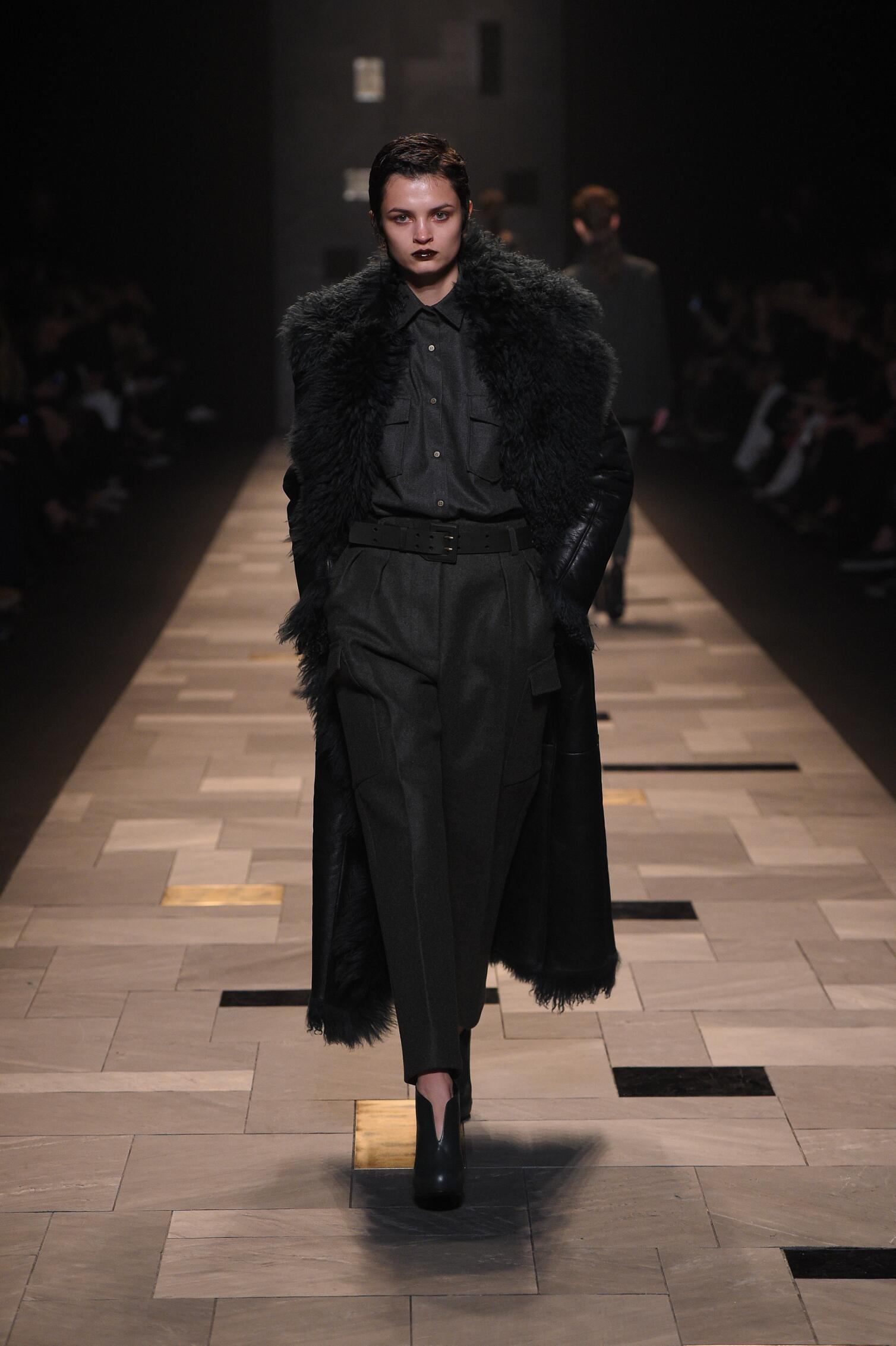 Winter Fashion Trends 2015 2016 Trussardi Collection