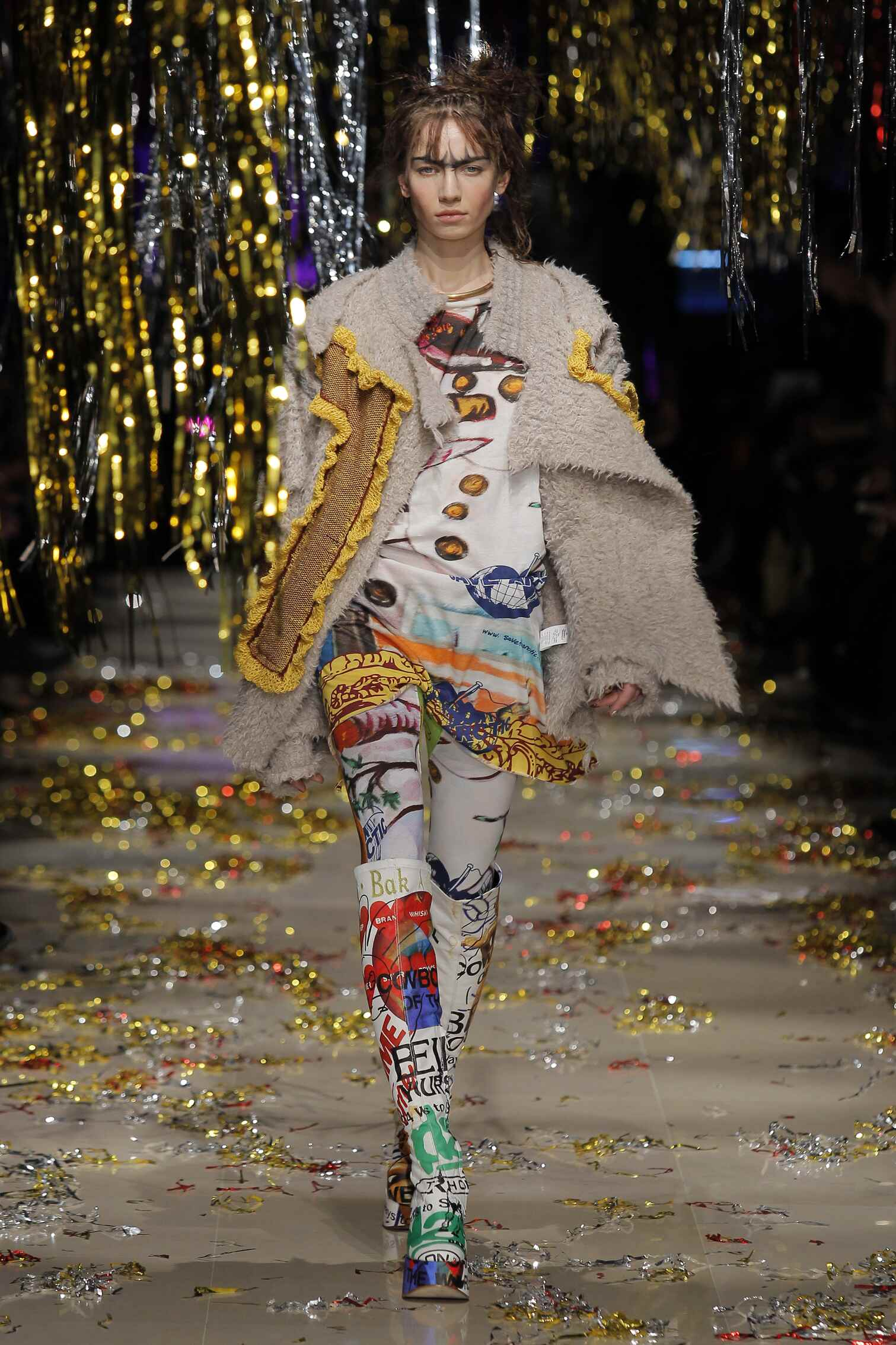 Winter Fashion Trends 2015 2016 Vivienne Westwood Gold Label Collection
