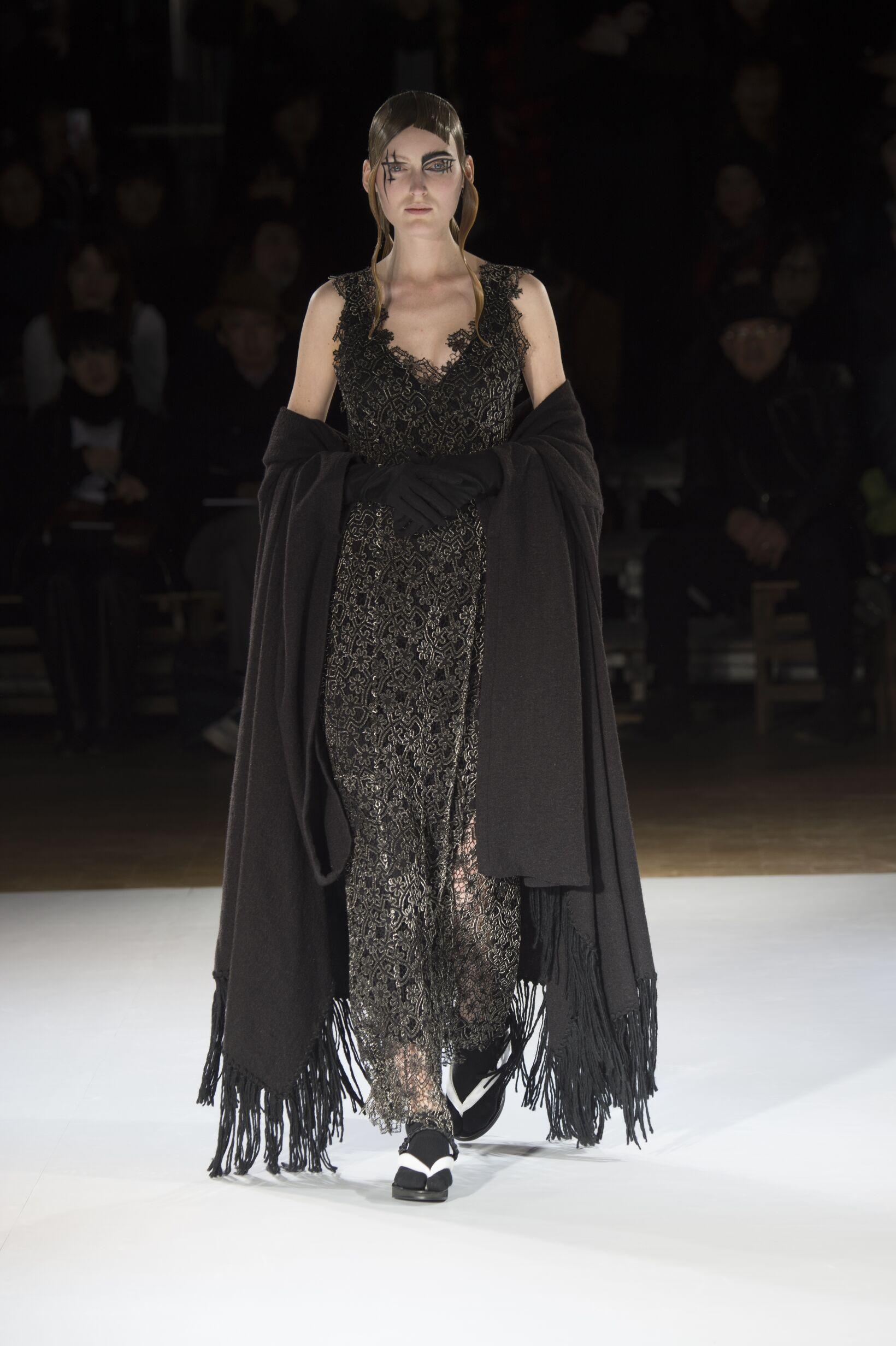 Winter Fashion Trends 2015 2016 Yohji Yamamoto Collection