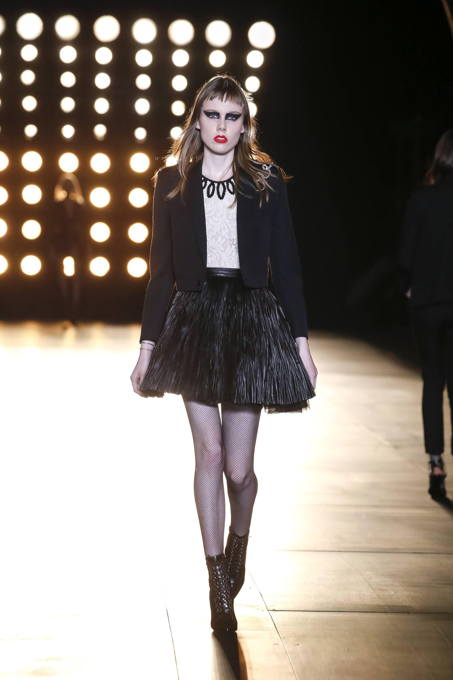 Winter Trends 2015 Saint Laurent Collection