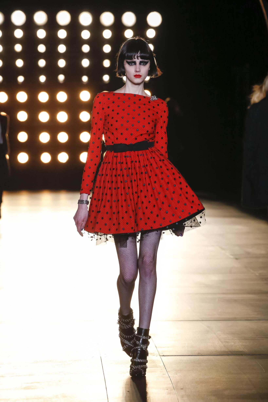 Woman Style Saint Laurent