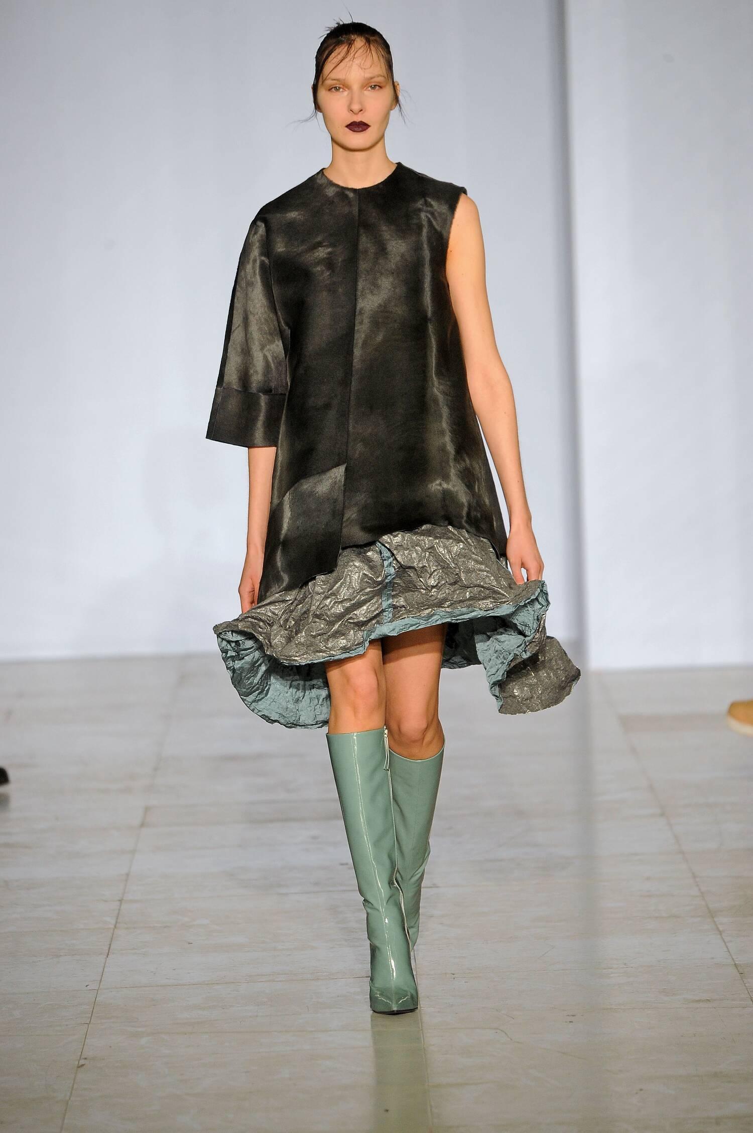 Yang Li Collection Fall 2015 Catwalk