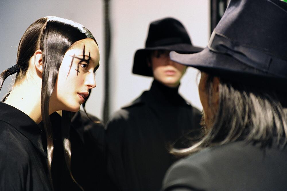 Yohji Yamamoto Backstage 2015