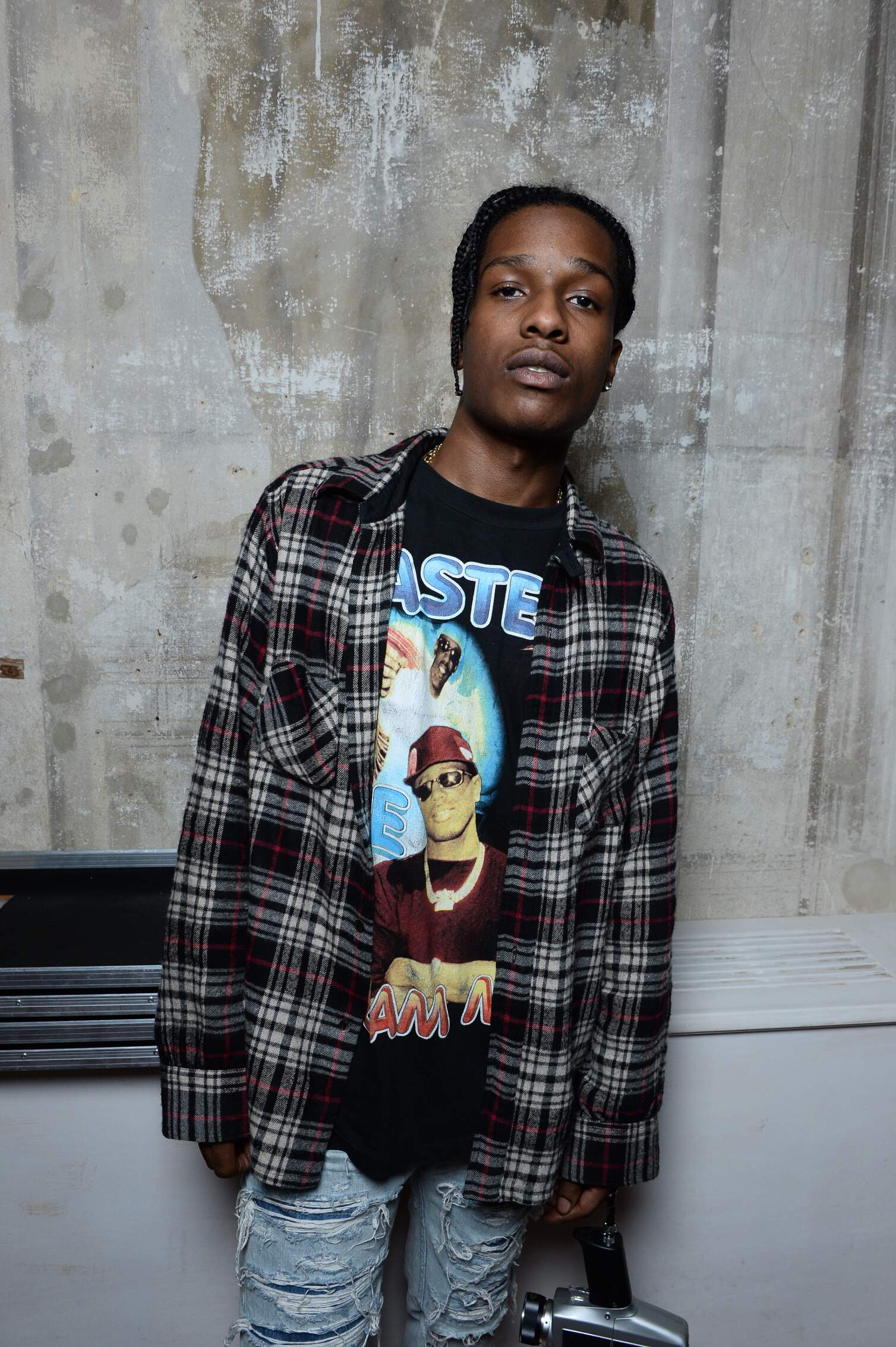 A$ap Rock Moschino Backstage