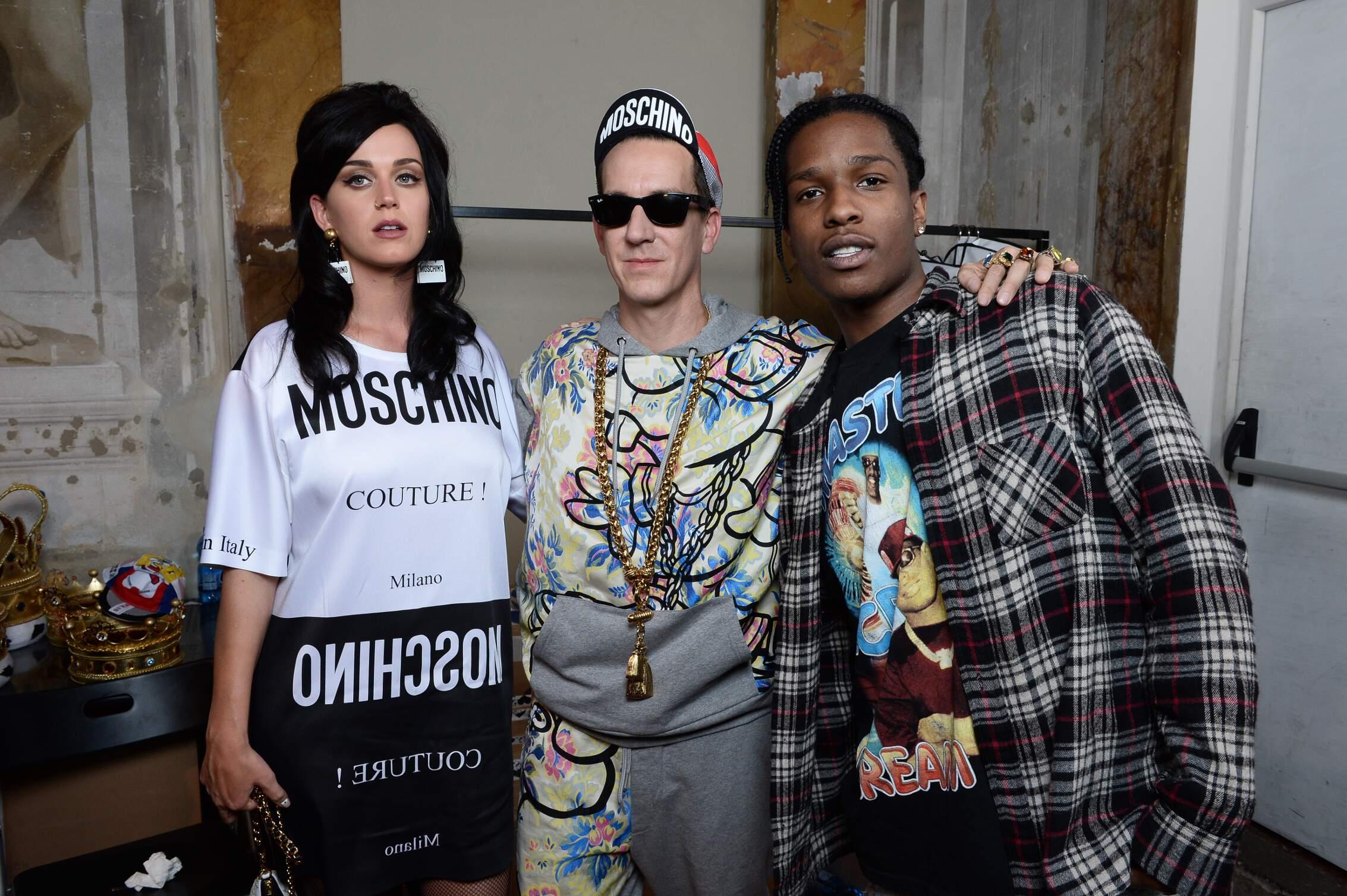 Backstage Moschino Jeremy Scott Katy Perry A$ap Rock