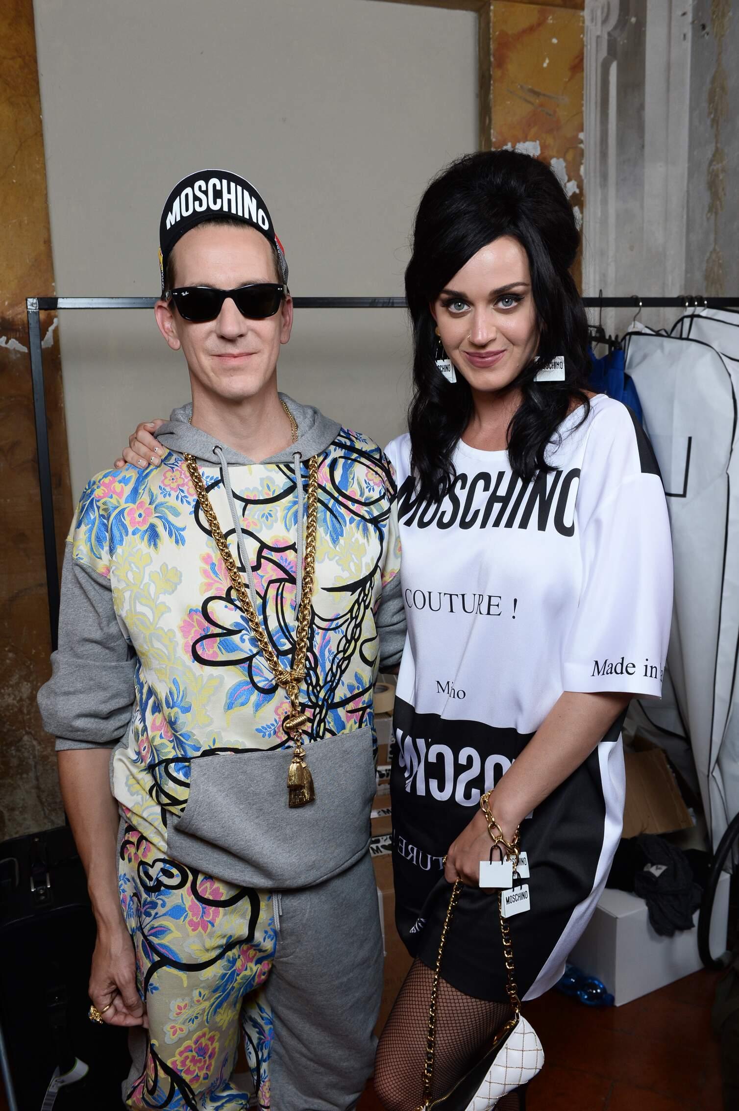 Jeremy Scott and Katy Perry Pitti Immagine