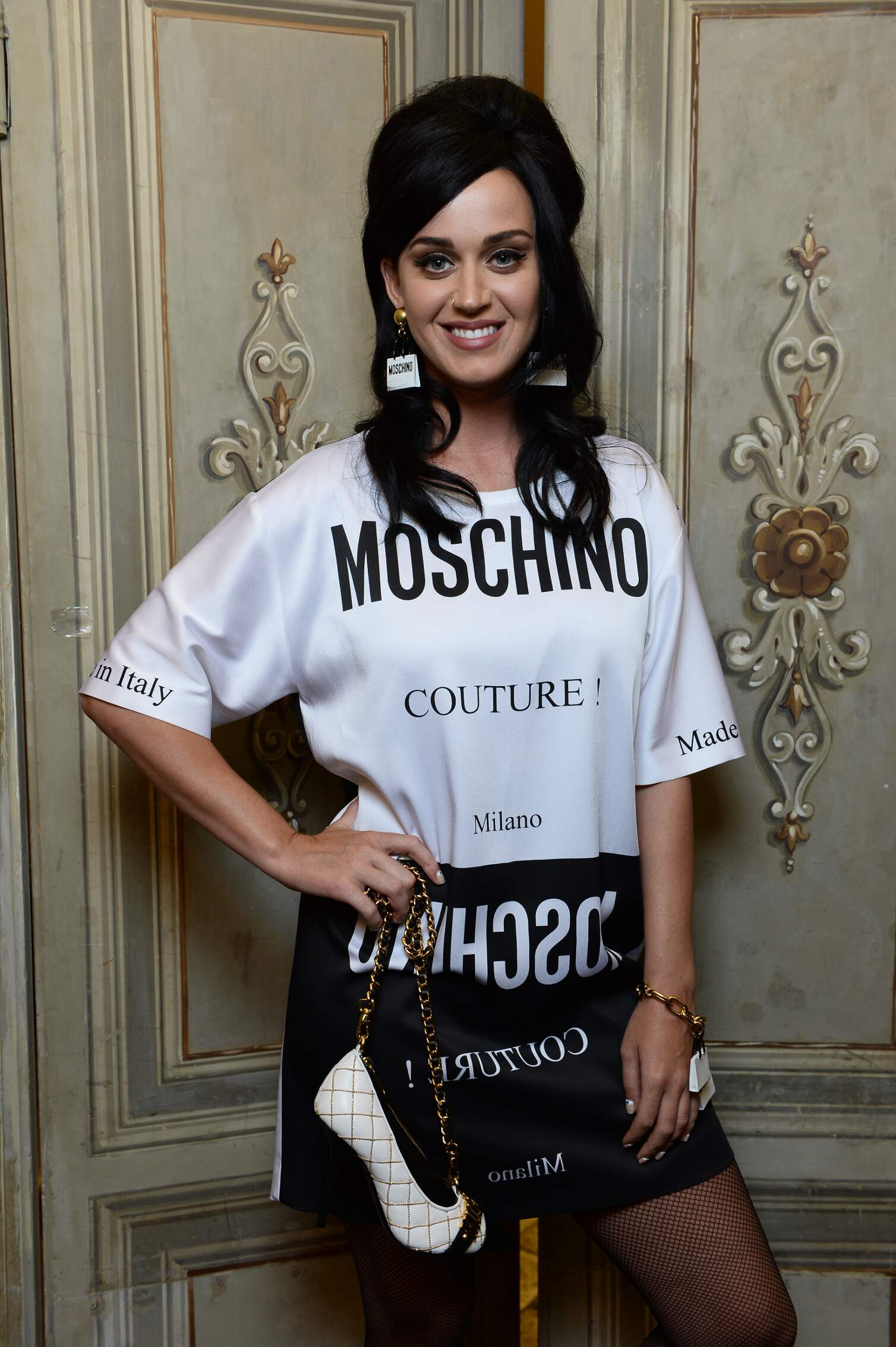 Katy Perry Backstage Moschino SS 2016
