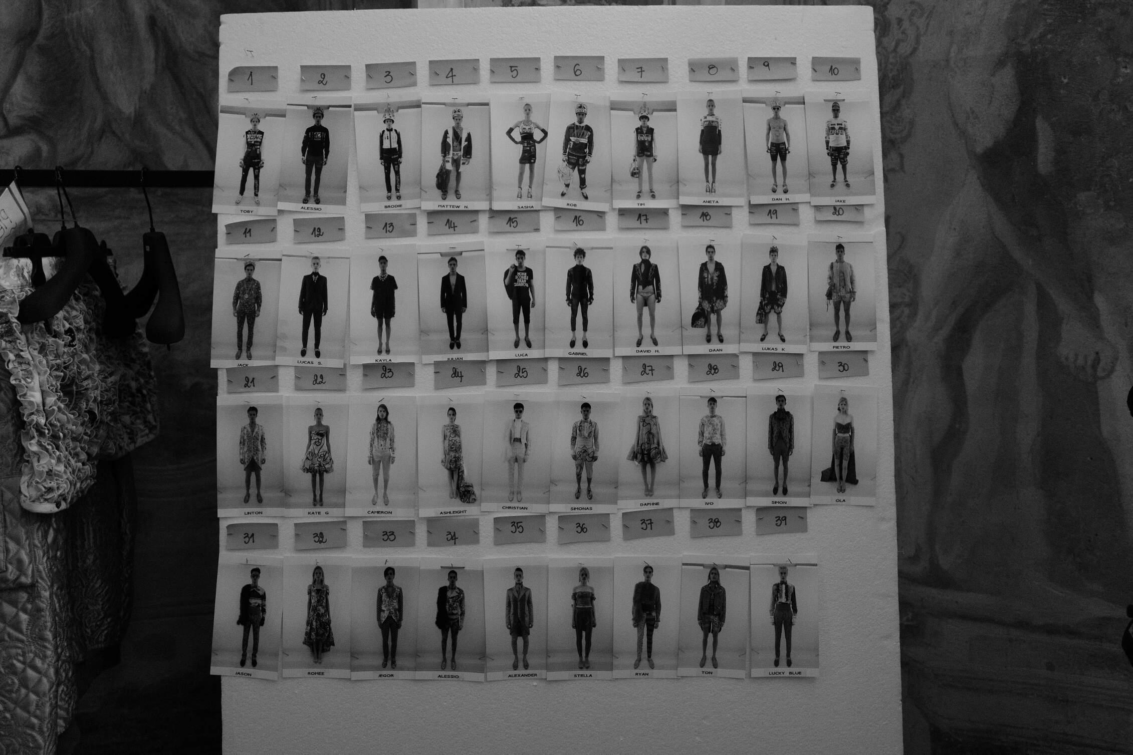 SS 2016 Backstage Moschino