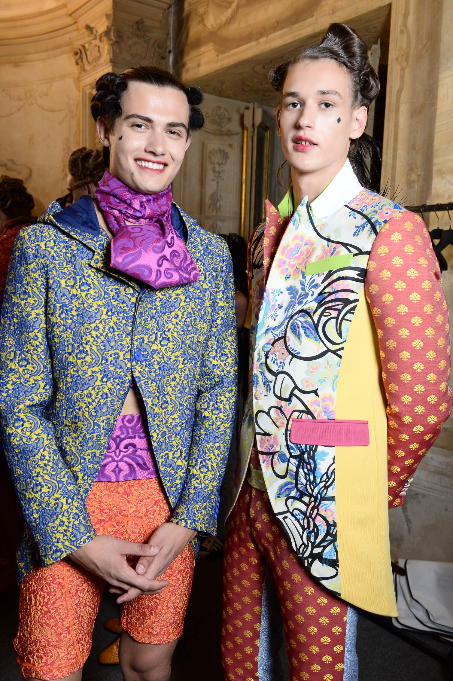 Spring Summer Models Backstage Moschino