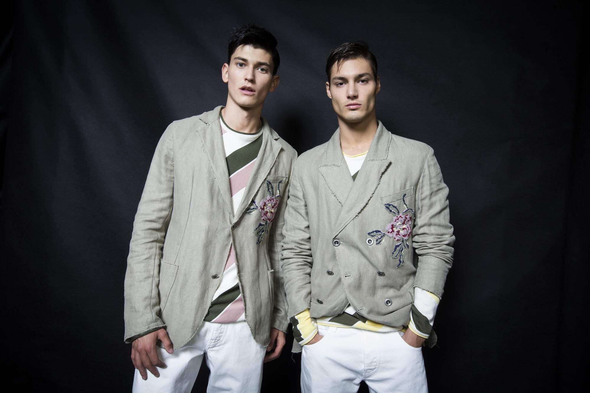 2016 Models Backstage Ermanno Scervino