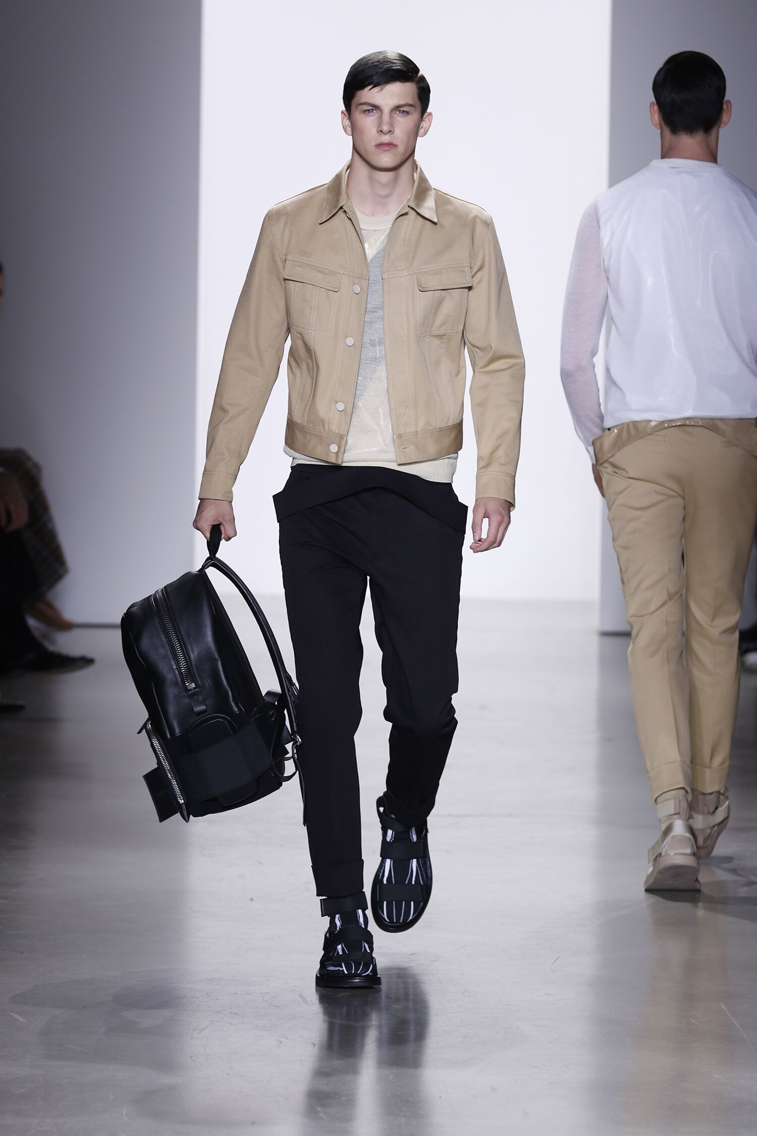 2016 Spring Fashion Man Calvin Klein Collection