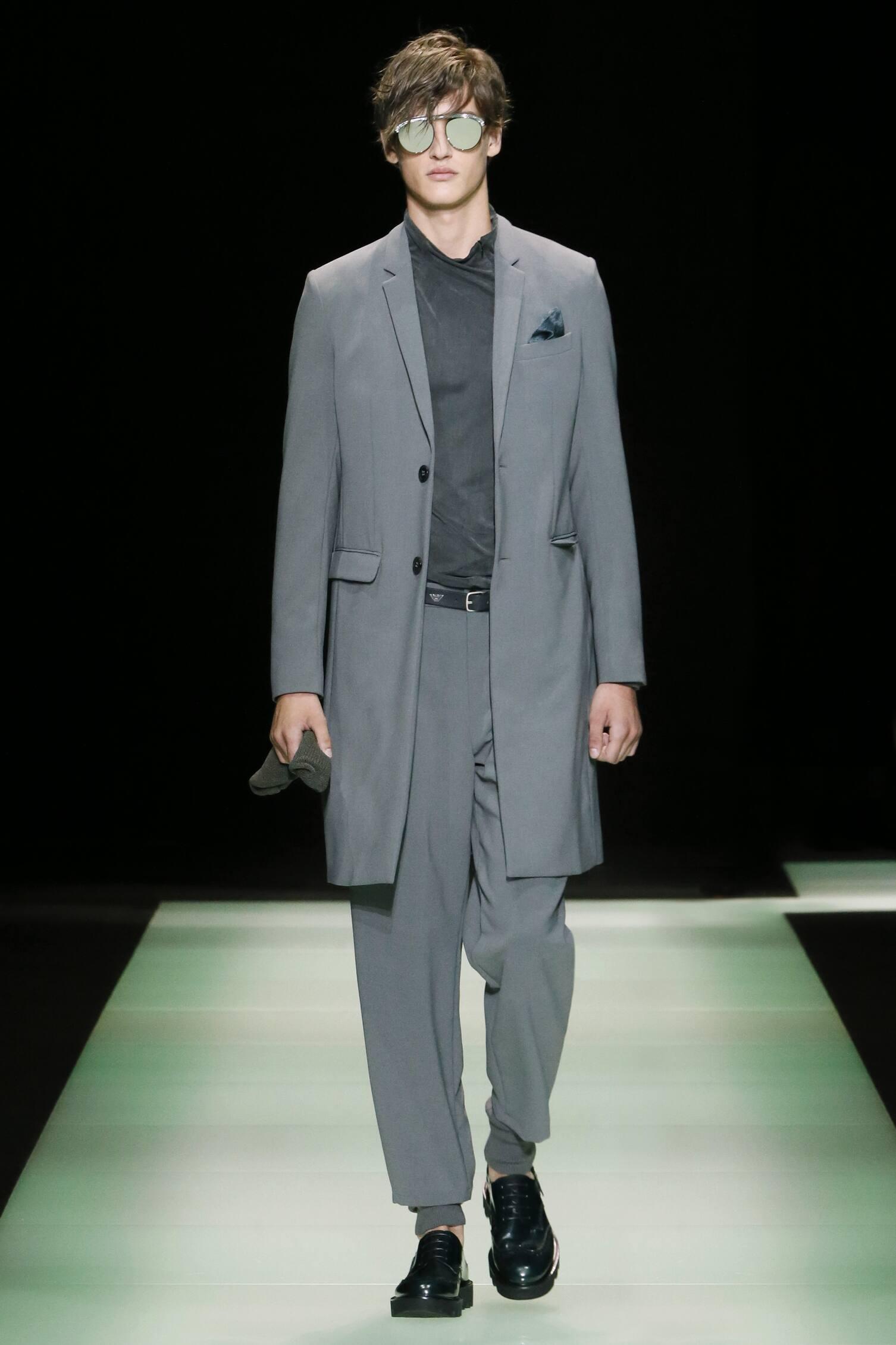 2016 Spring Fashion Man Emporio Armani Collection