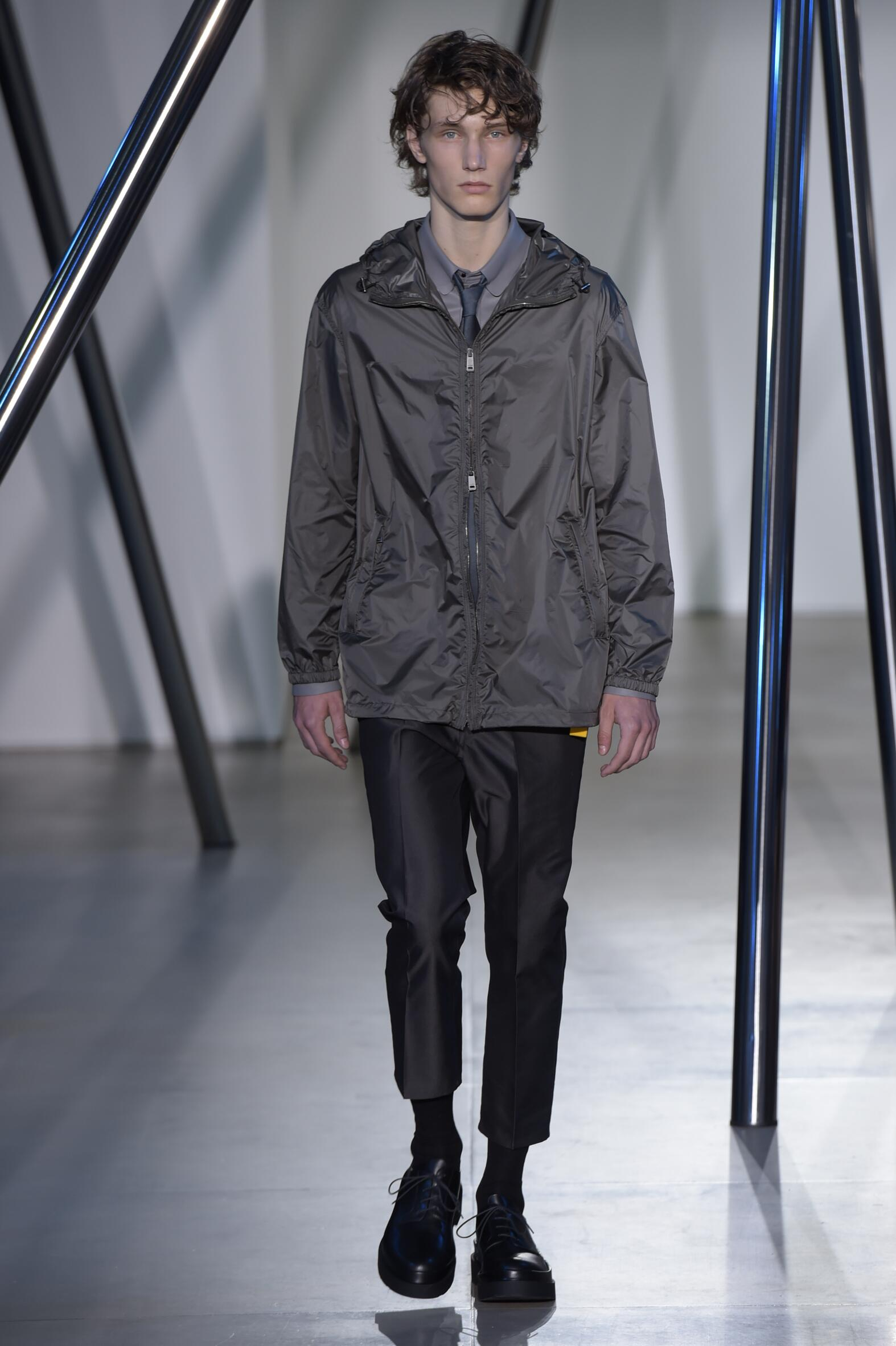 2016 Spring Fashion Man Jil Sander Collection