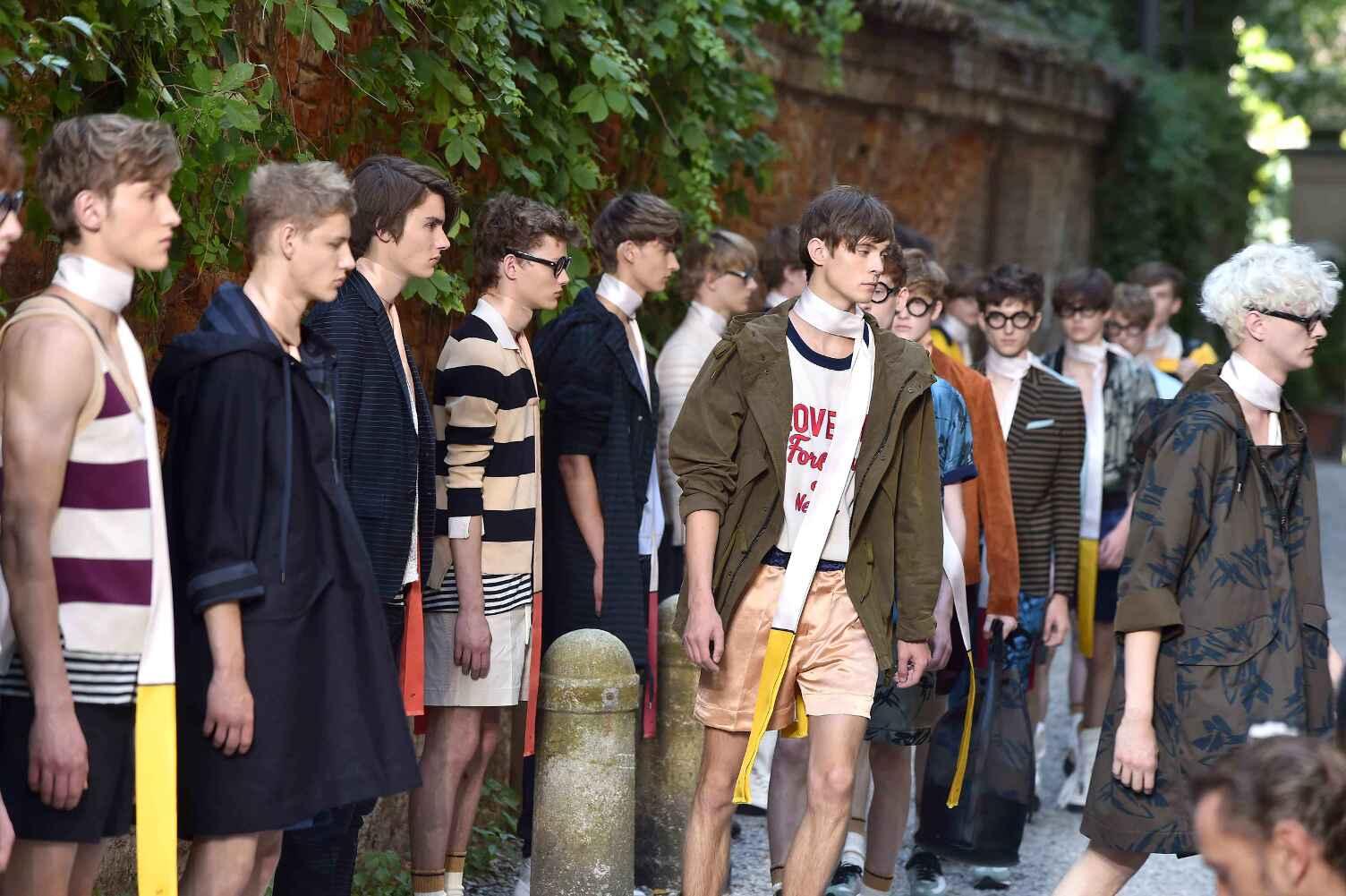 Andrea Pompilio Collection Men's 2016 Finale