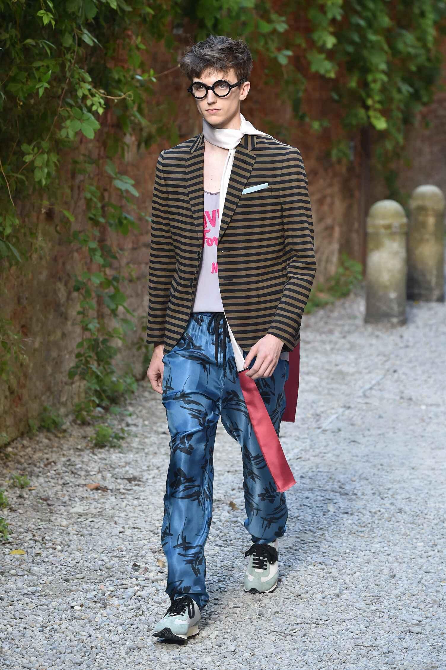 Andrea Pompilio Collection Milan Fashion Week Menswear