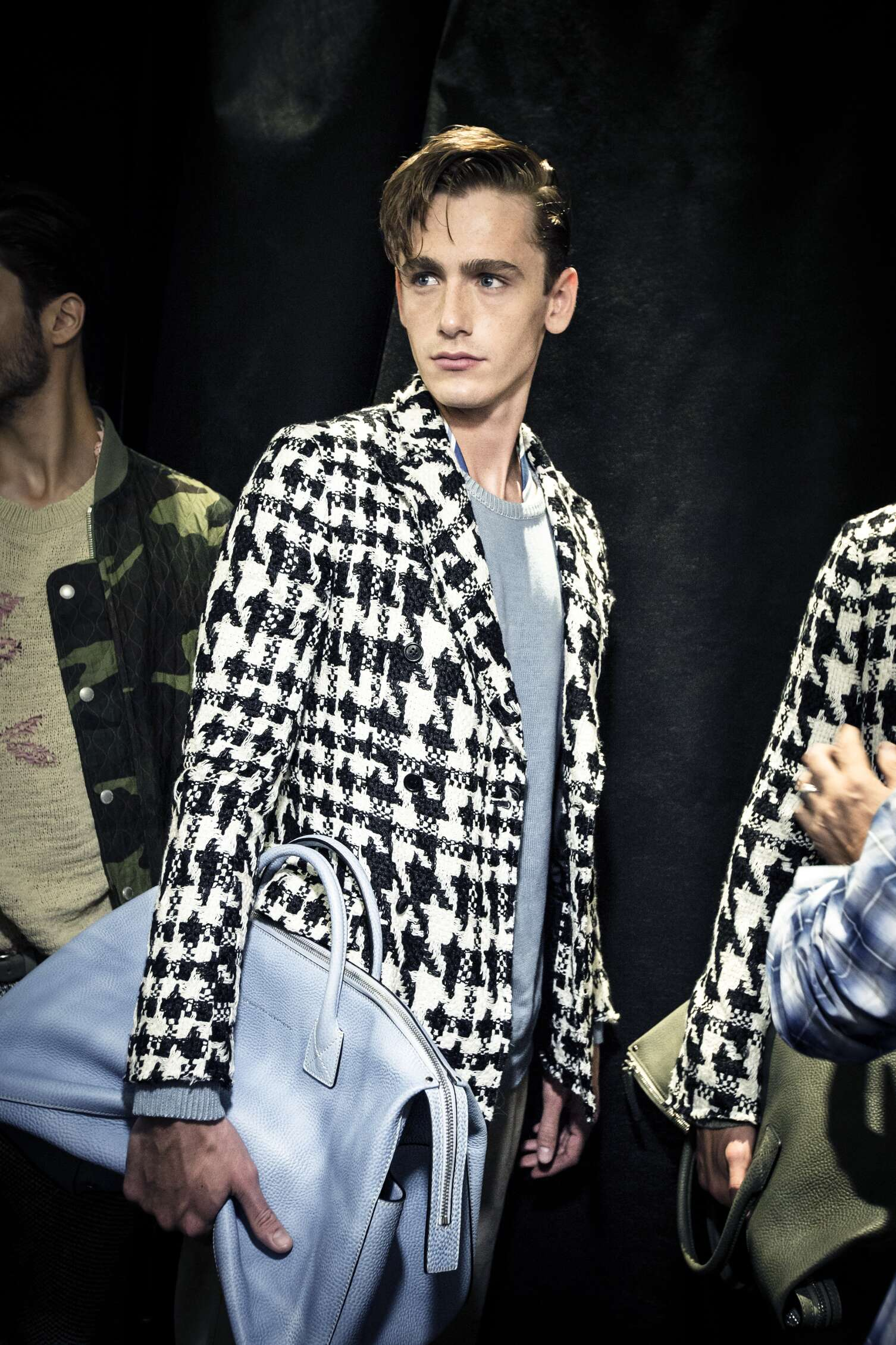 Backstage Ermanno Scervino Model Milan
