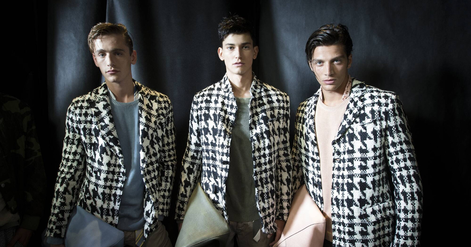 Backstage Ermanno Scervino Models SS 2016