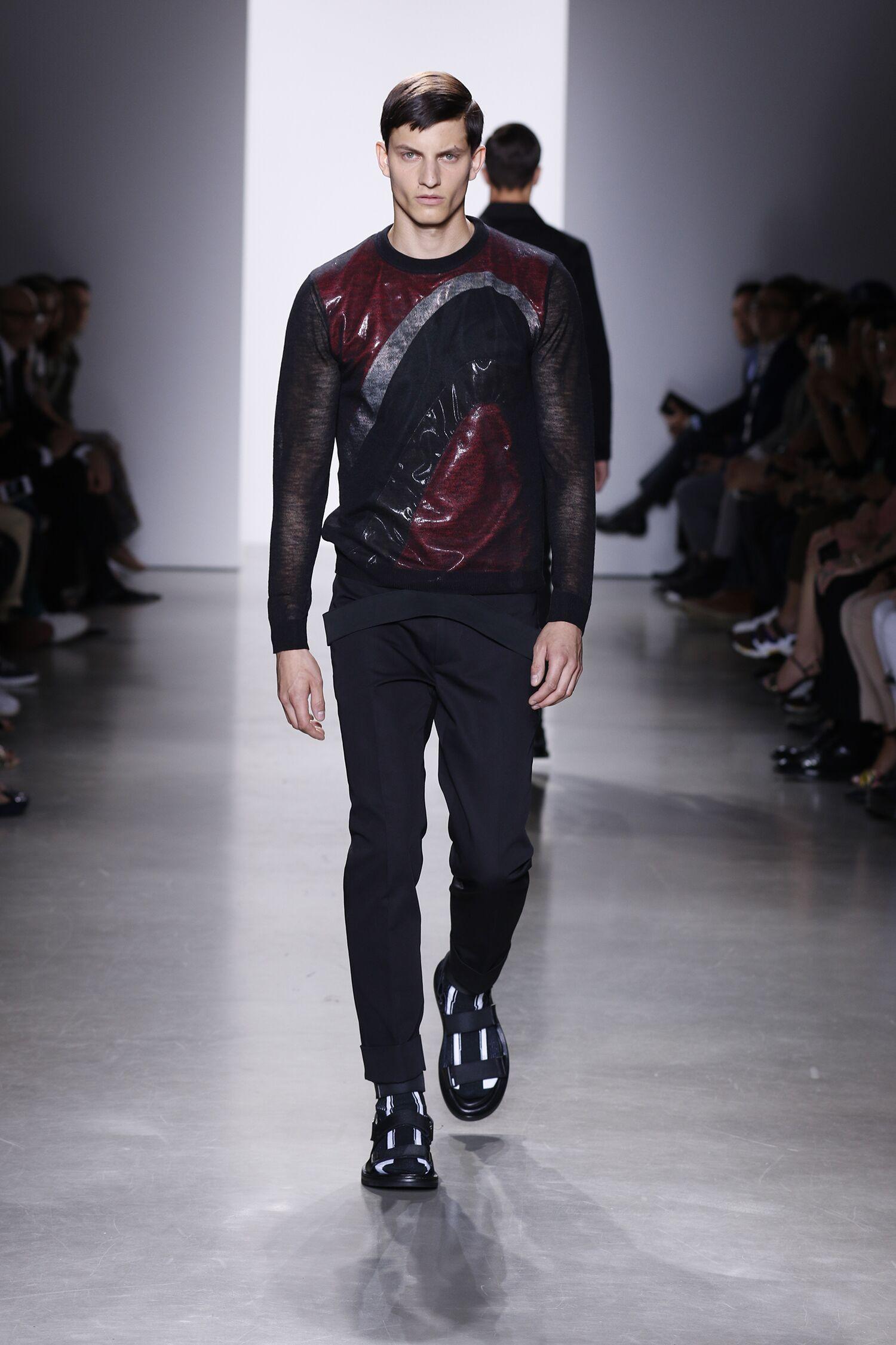 Calvin Klein Collection Spring Summer 2016 Menswear Milan Fashion Week Fashion Show