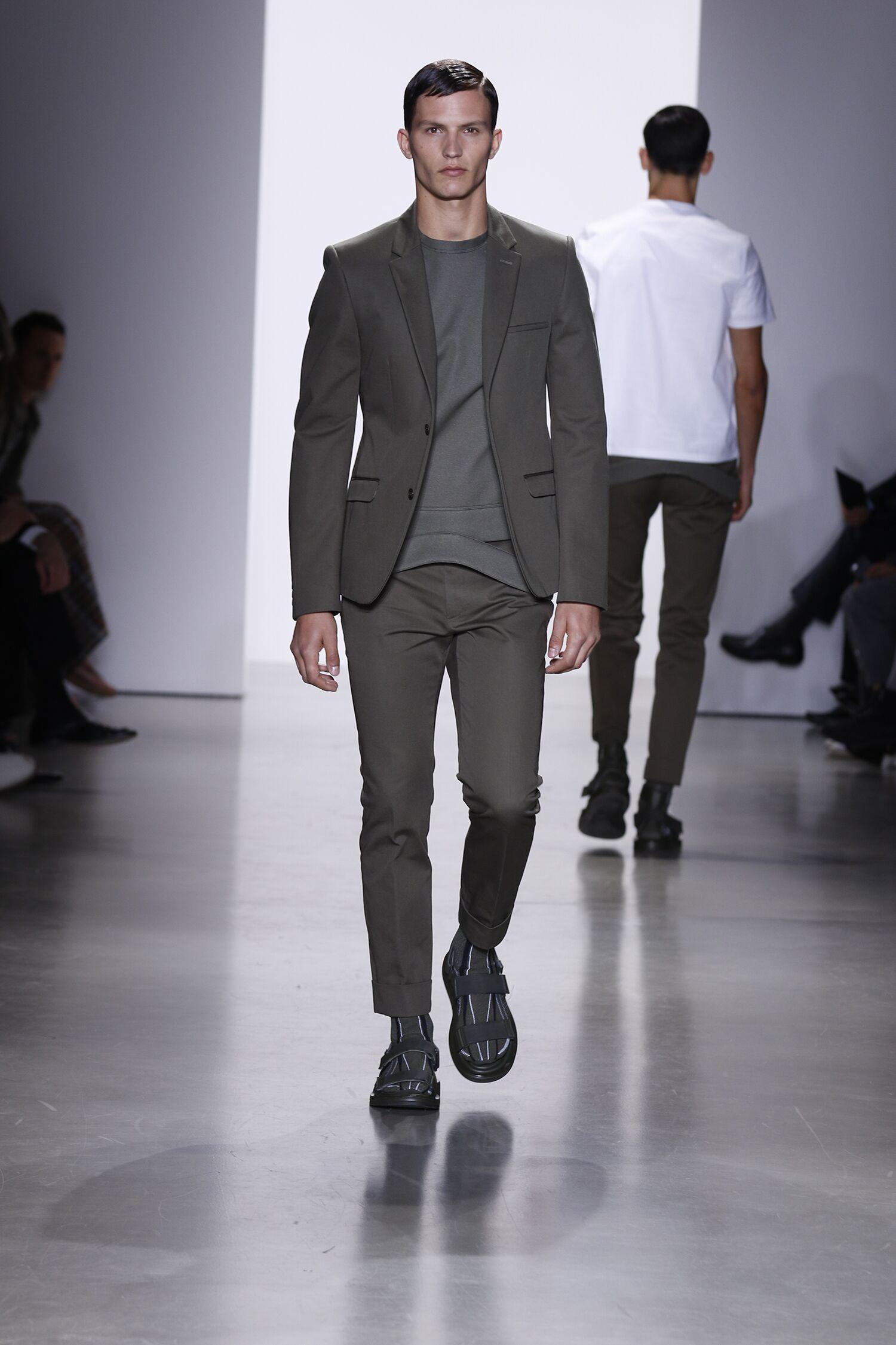 Calvin Klein Spring Summer 2016 Mens Collection Milan Fashion Week