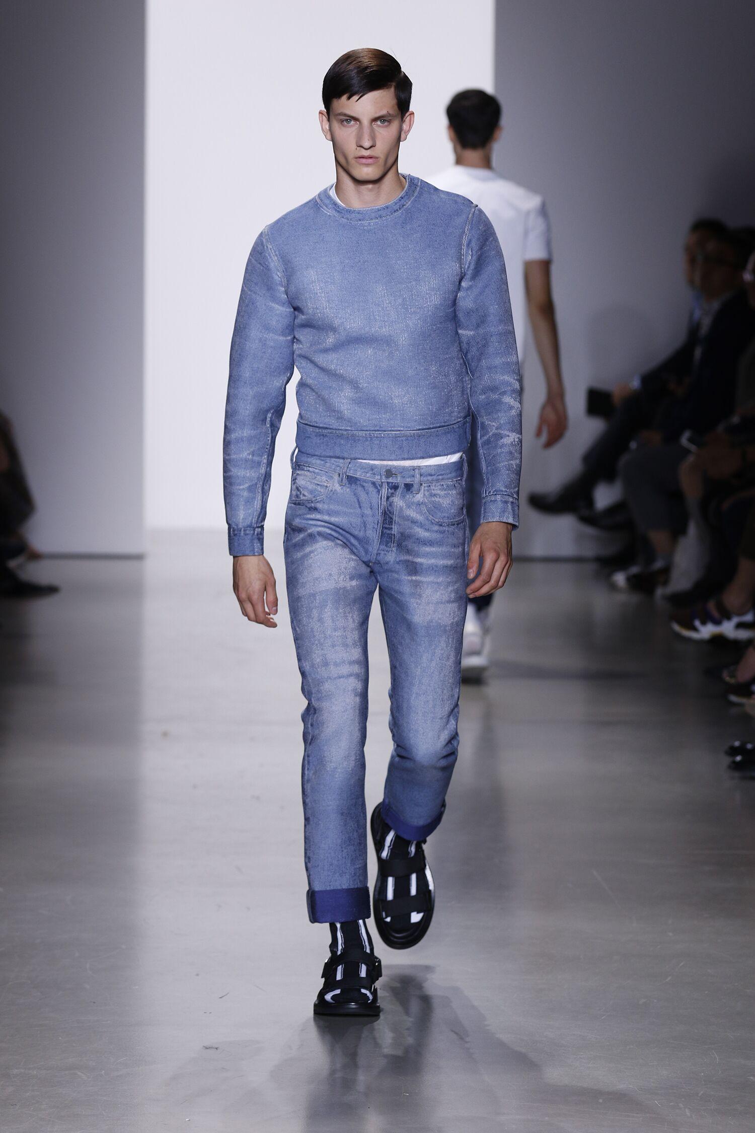 Catwalk Calvin Klein Collection Fashion Show Summer 2016