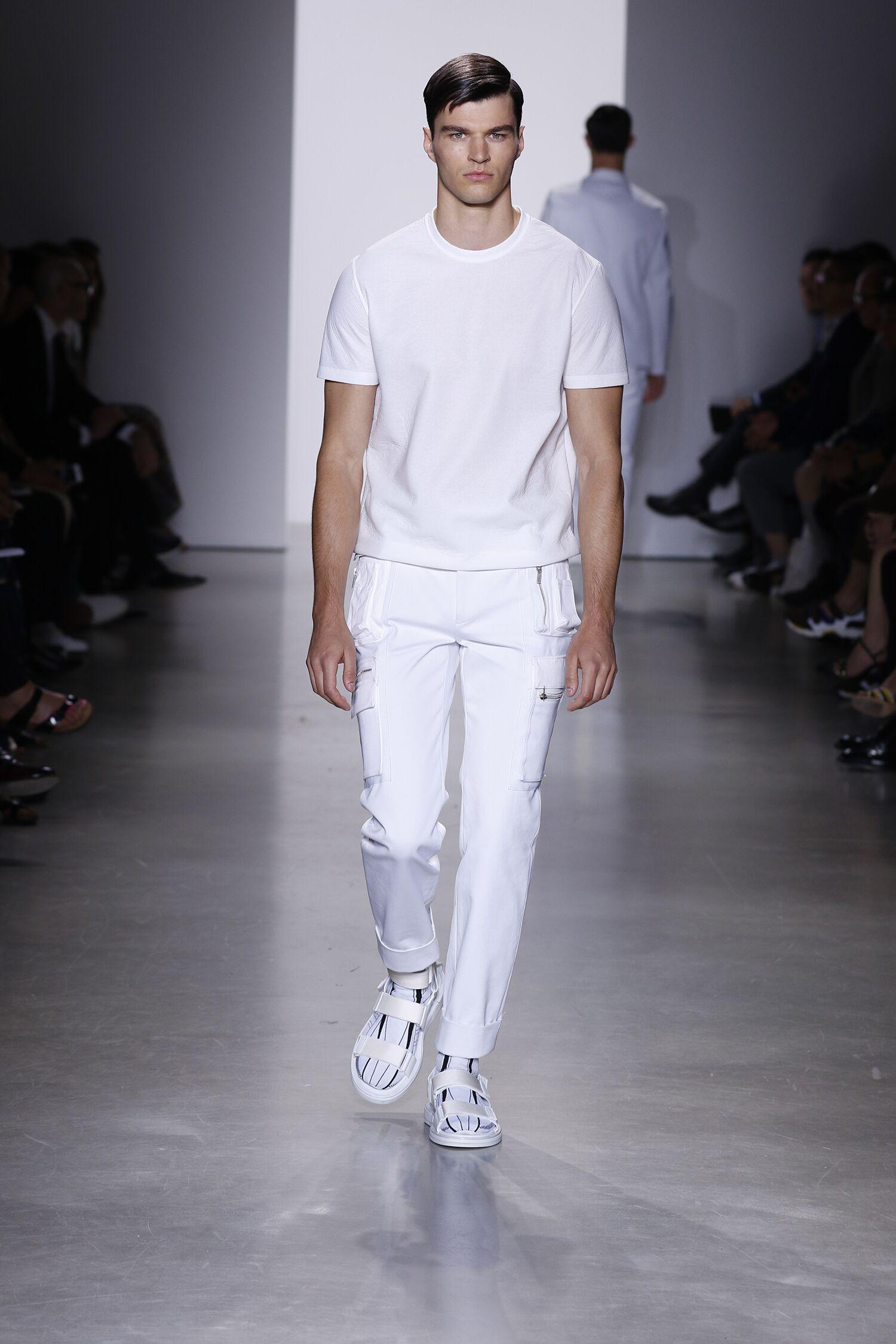 Catwalk Calvin Klein Collection Spring Summer 2016 Men Milan Fashion Week