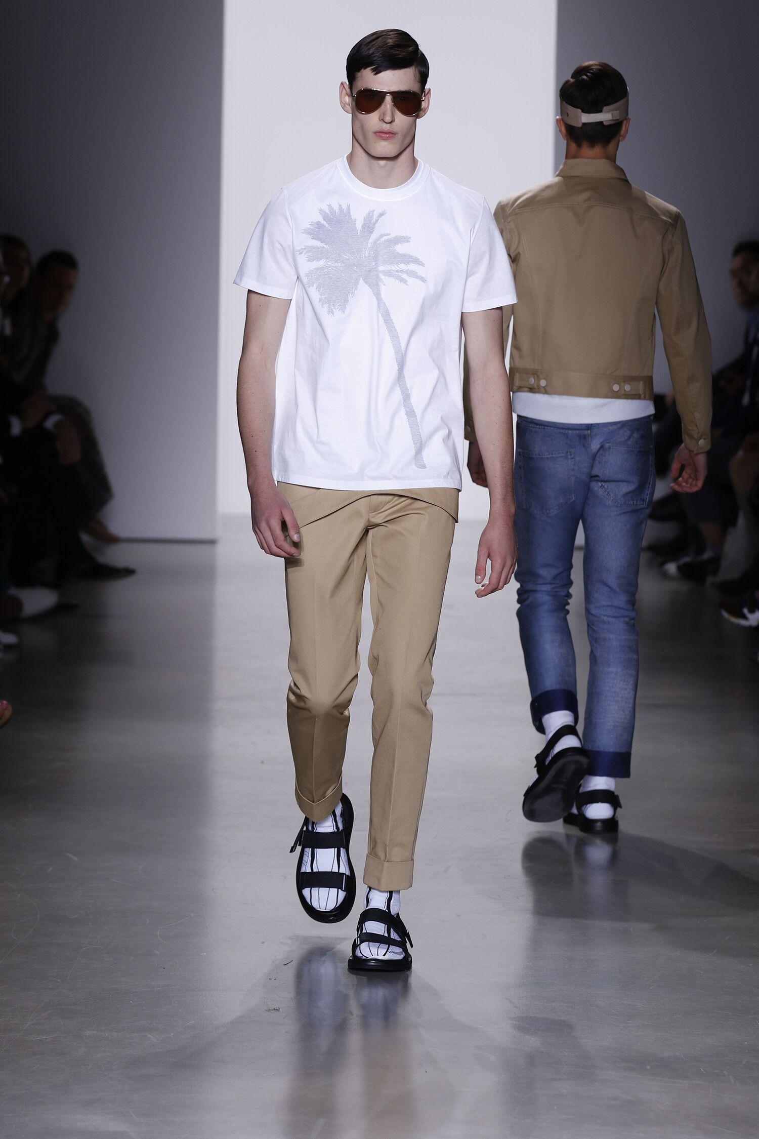Catwalk Calvin Klein Menswear Collection Summer 2016