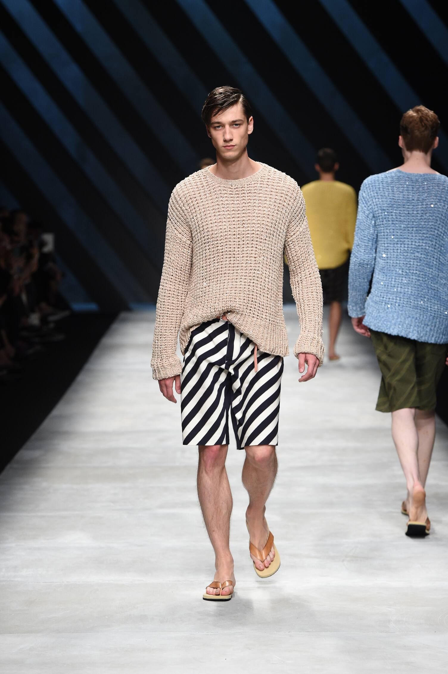 Catwalk Ermanno Scervino Collection Fashion Show Summer 2016
