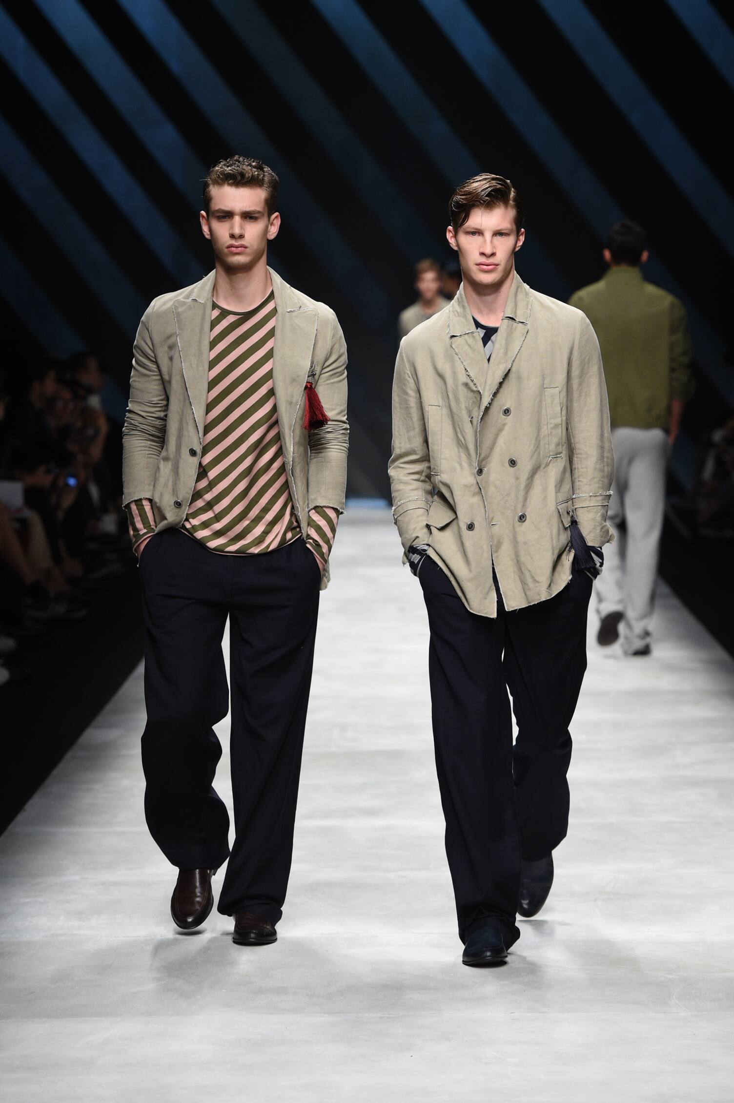 Catwalk Ermanno Scervino Menswear Collection Summer 2016