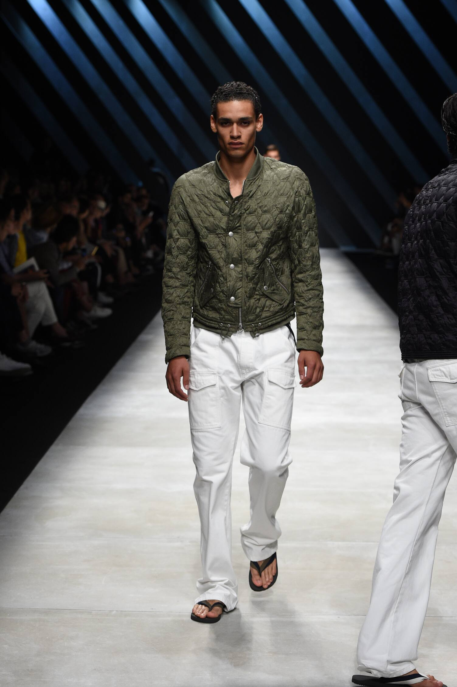 Catwalk Ermanno Scervino Spring Summer 2016 Men's Collection Milan Fashion Week