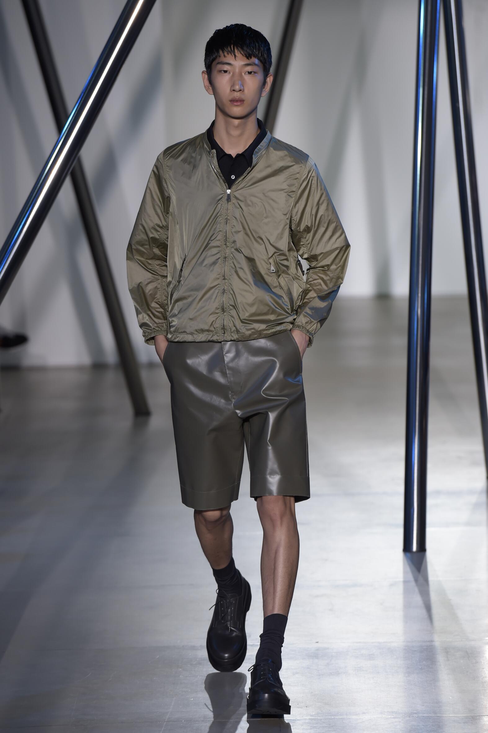 Catwalk Jil Sander Collection Fashion Show Summer 2016