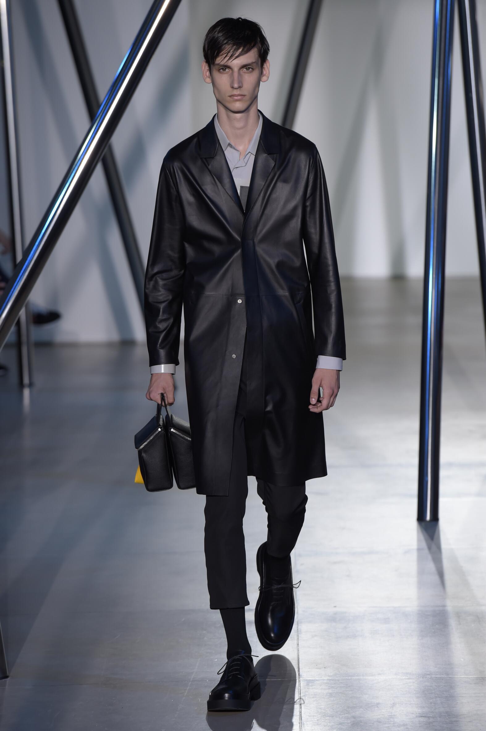 Catwalk Jil Sander Menswear Collection Summer 2016