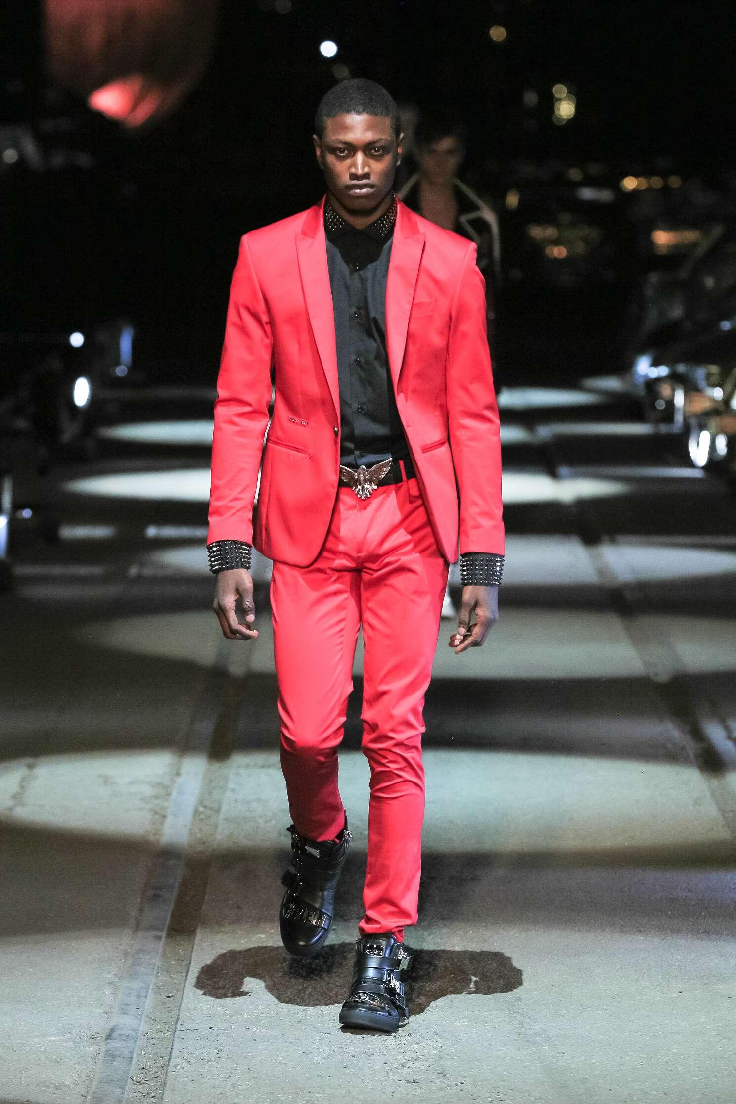 Catwalk Philipp Plein Menswear Collection Summer 2016