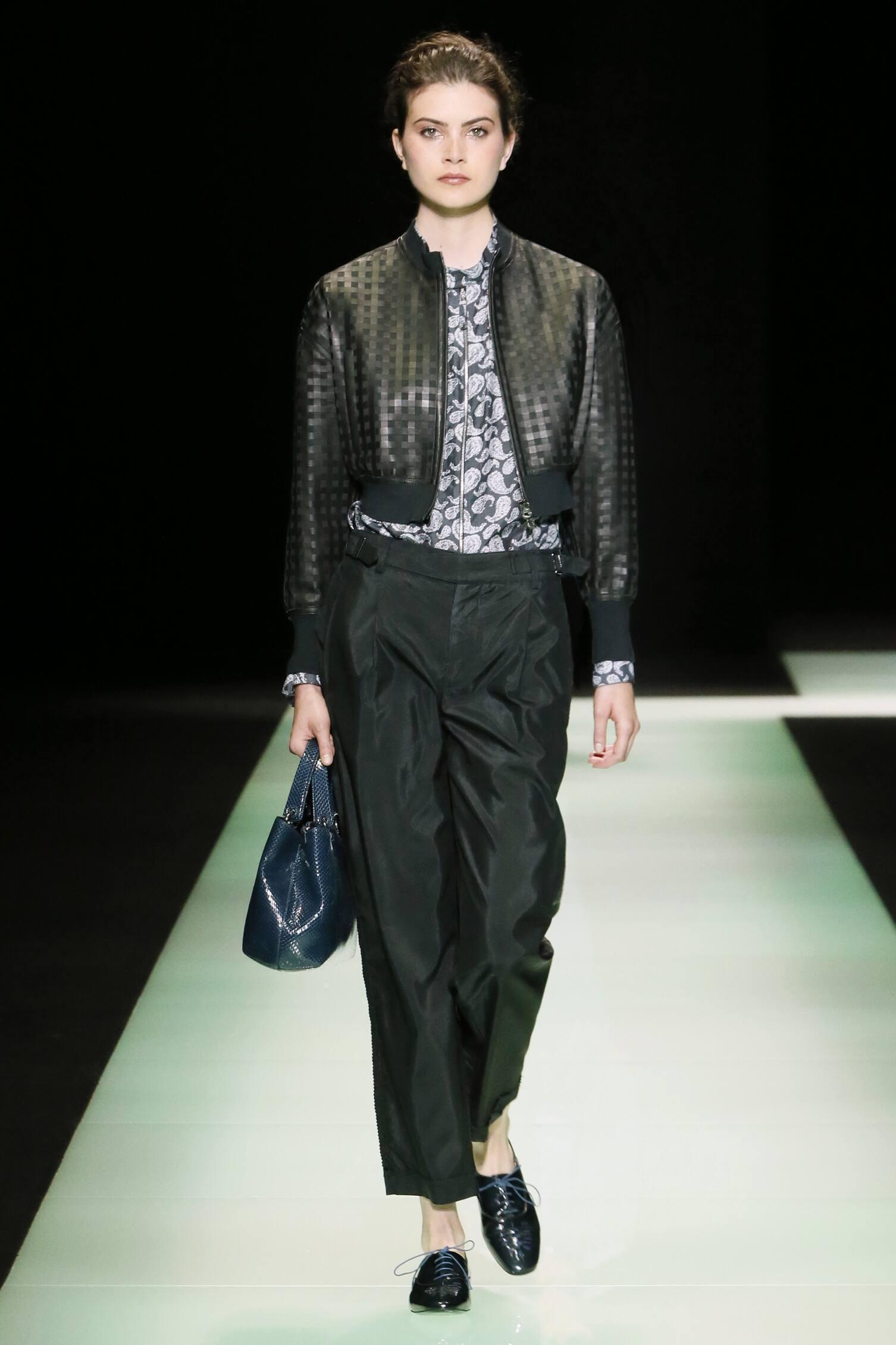 Emporio Armani Fashion Show