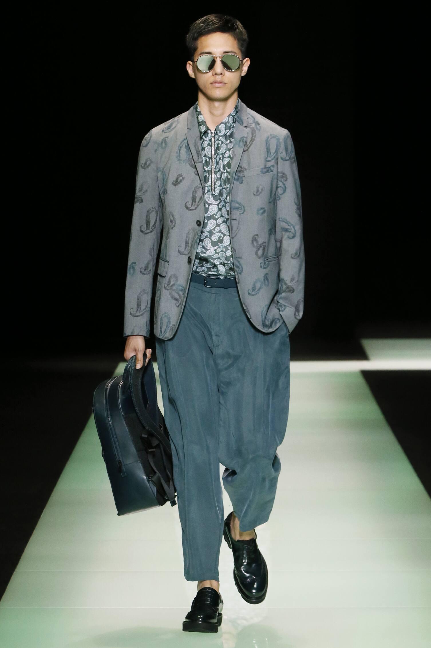EMPORIO ARMANI SPRING SUMMER MEN'S COLLECTION | The Skinny ...