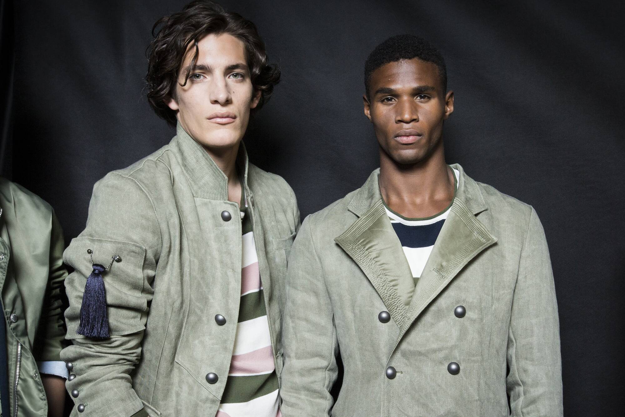 Ermanno Scervino Backstage Fashion Models Menswear
