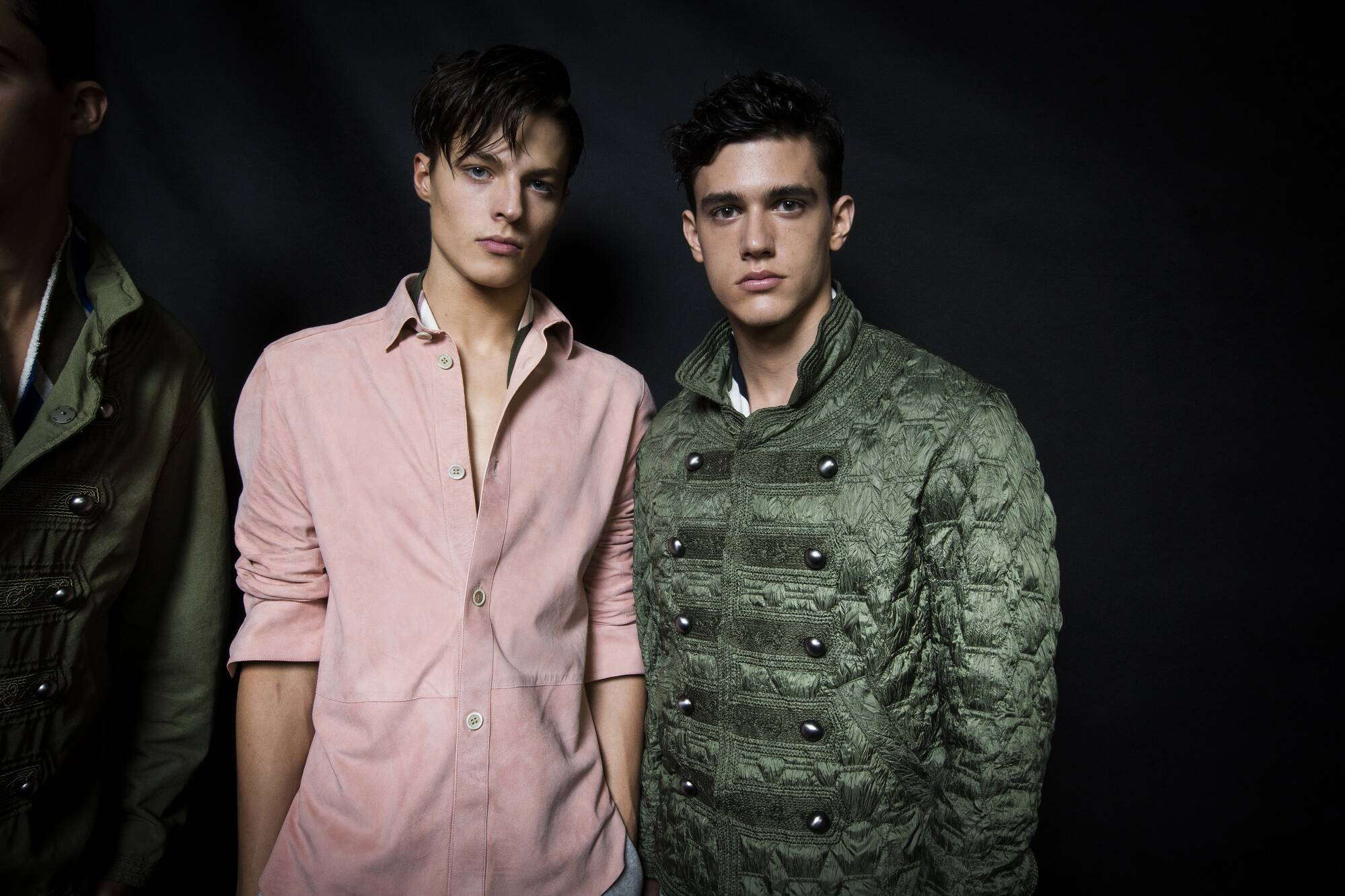 Ermanno Scervino Backstage Fashion Models Milan