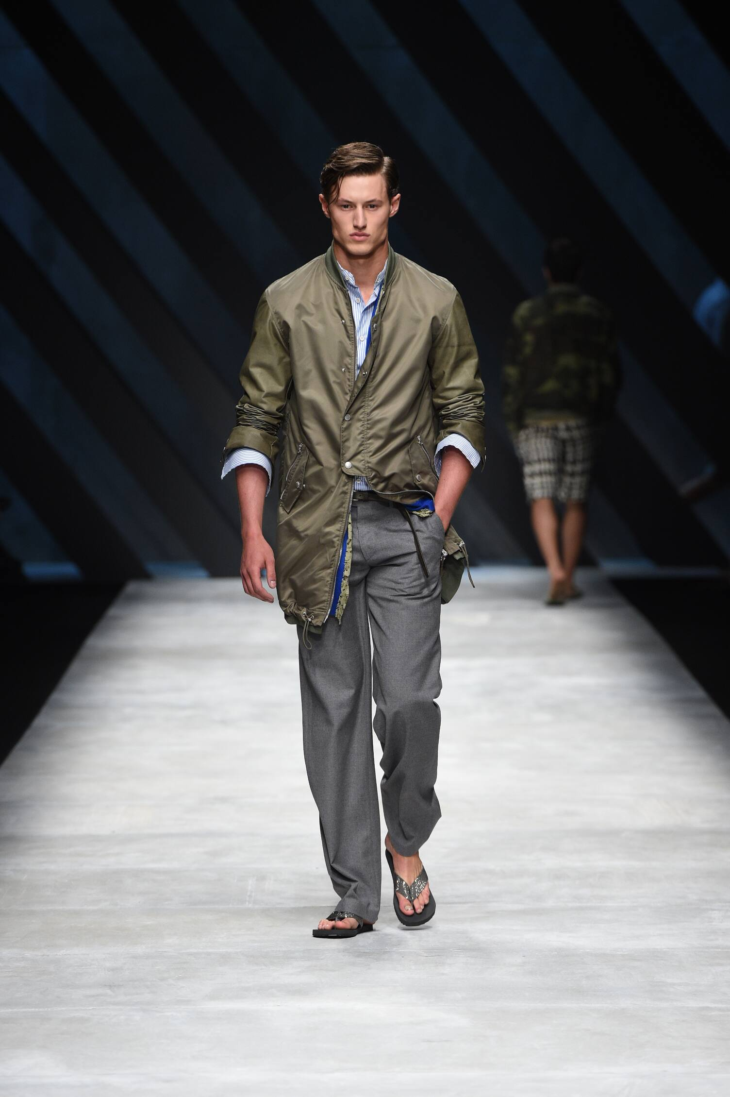 Ermanno Scervino Spring Summer 2016 Menswear Collection Milan Fashion Week Fashion Show