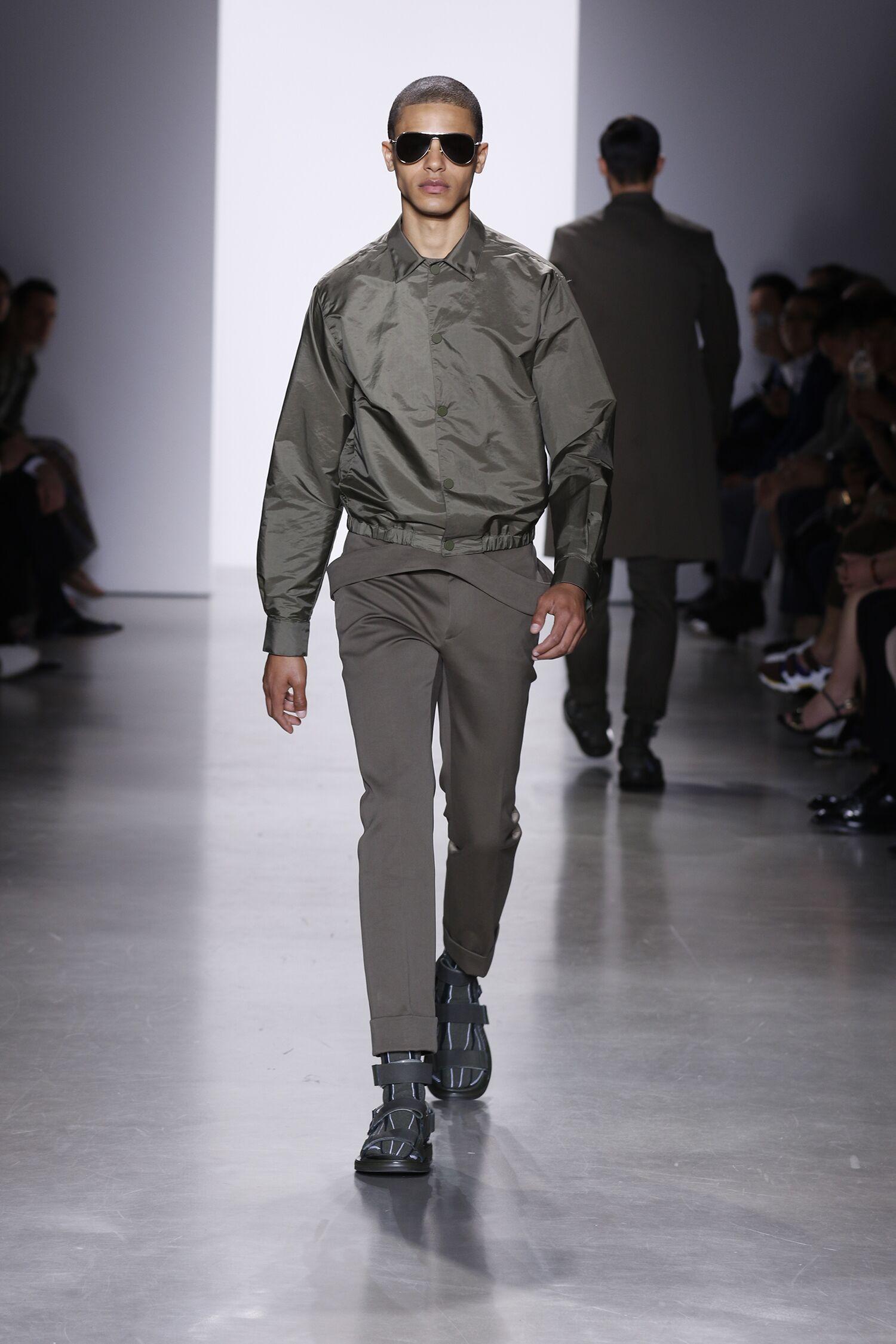 Fashion Menswear Calvin Klein Collection Catwalk