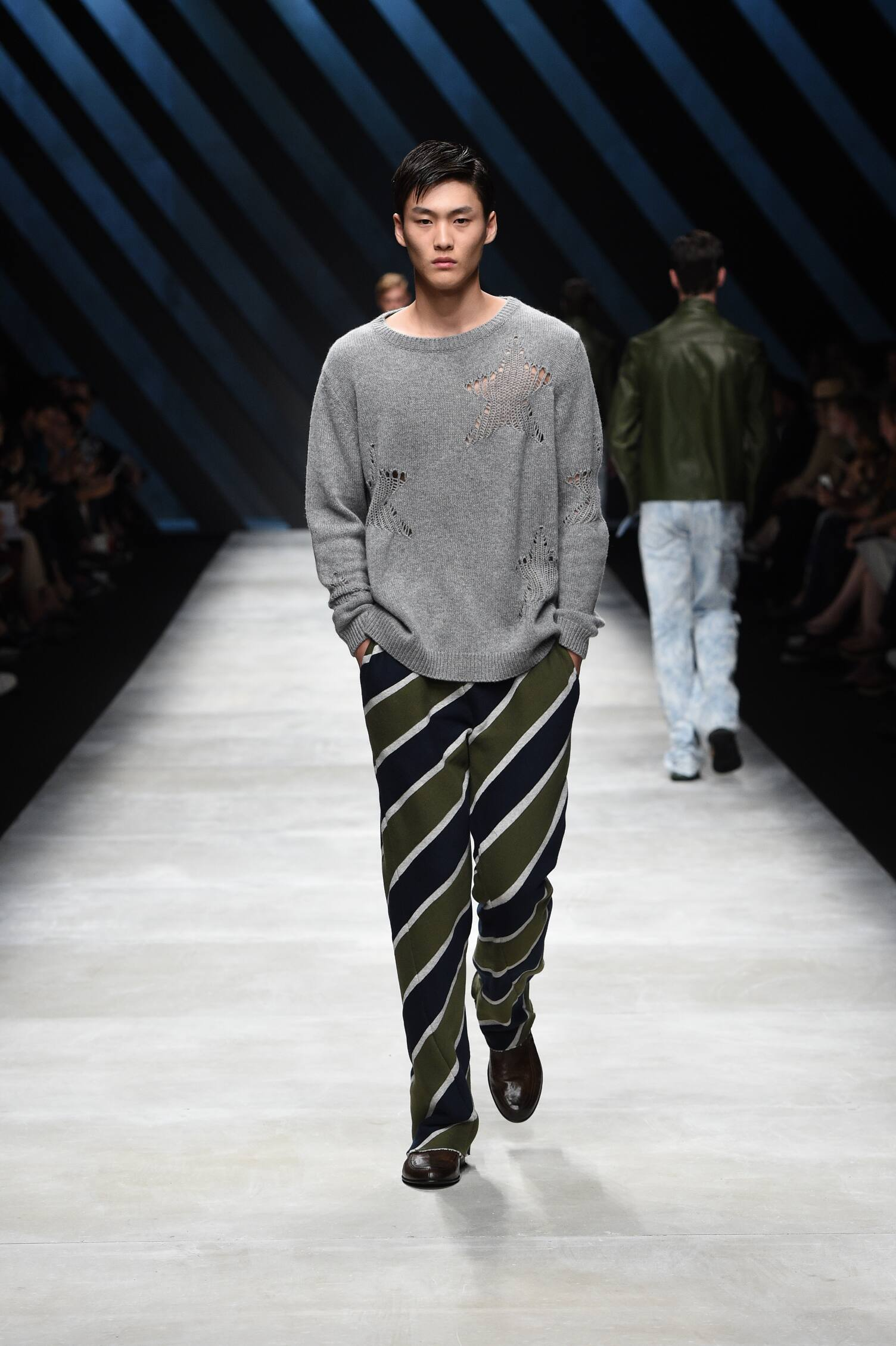 Fashion Menswear Ermanno Scervino Collection Catwalk