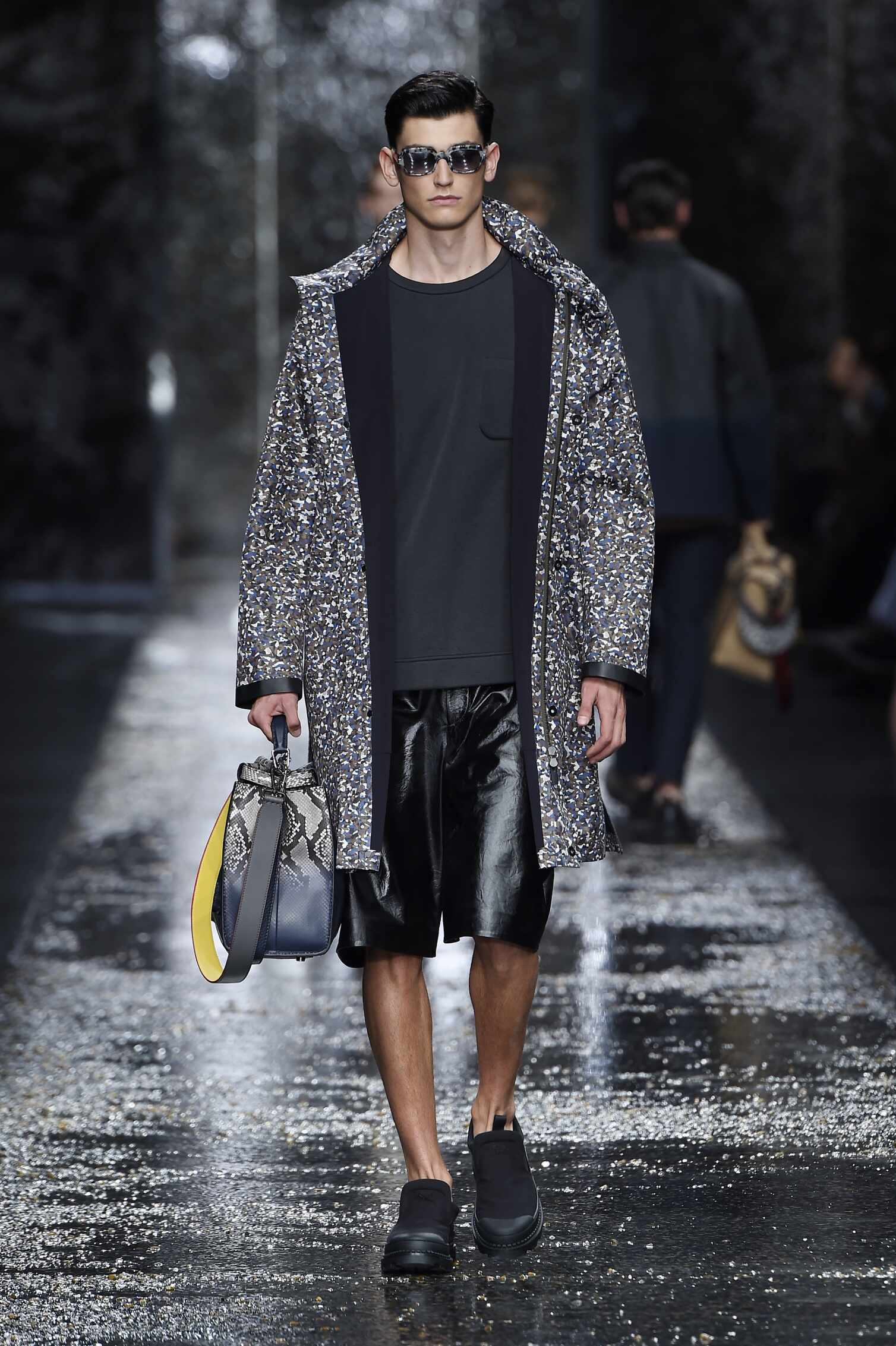Fashion Menswear Fendi Collection Catwalk