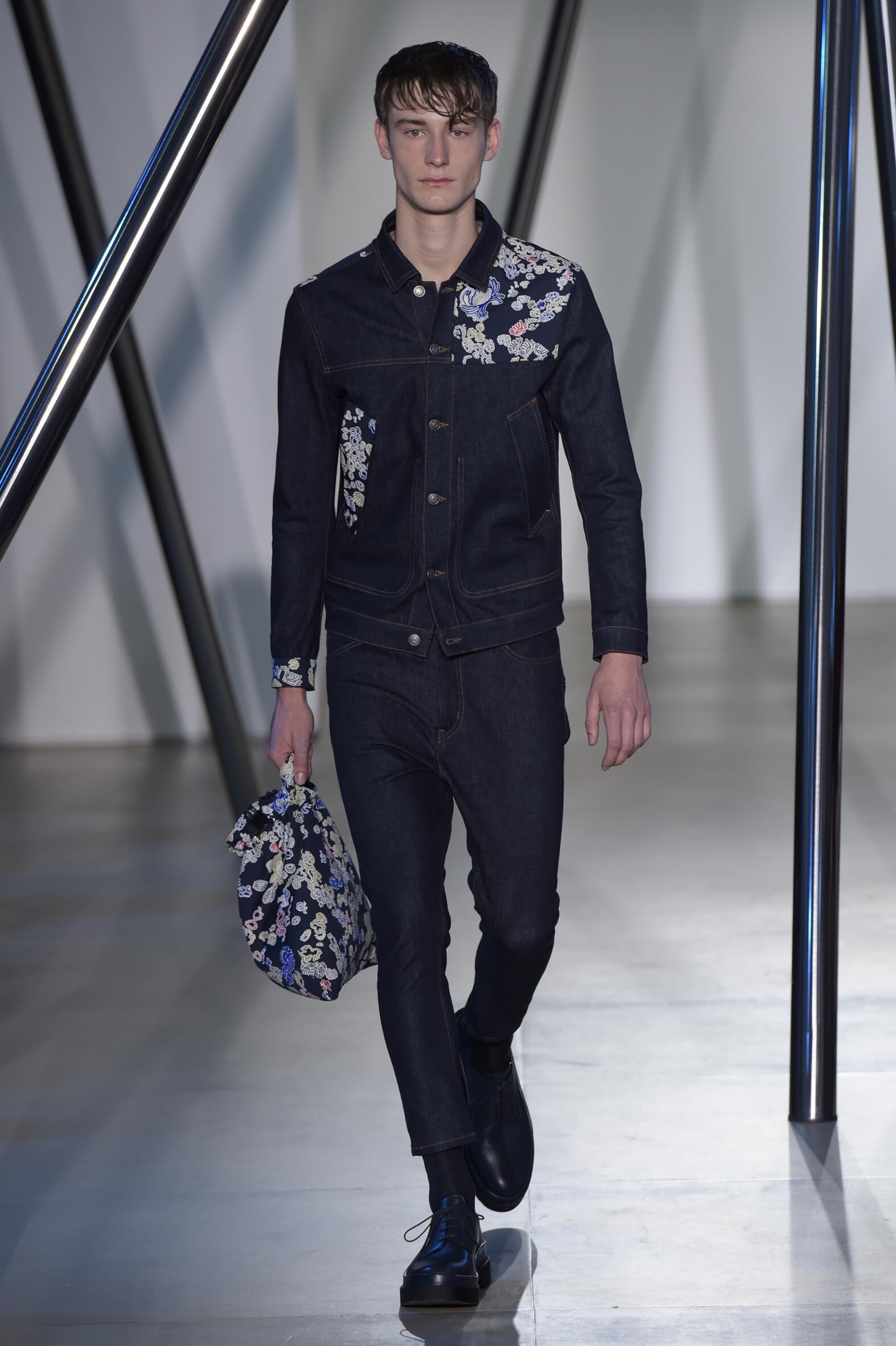 Fashion Menswear Jil Sander Collection Catwalk